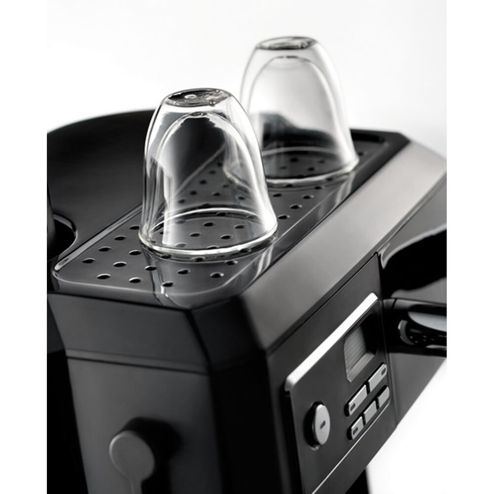 Coffee Maker Combo Review : DeLonghi Combination Coffee & Espresso Maker & Reviews Wayfair