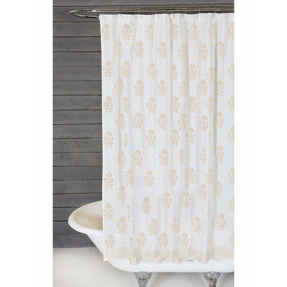 Pom Pom At Home Bahaar Cotton Shower Curtain Wayfair