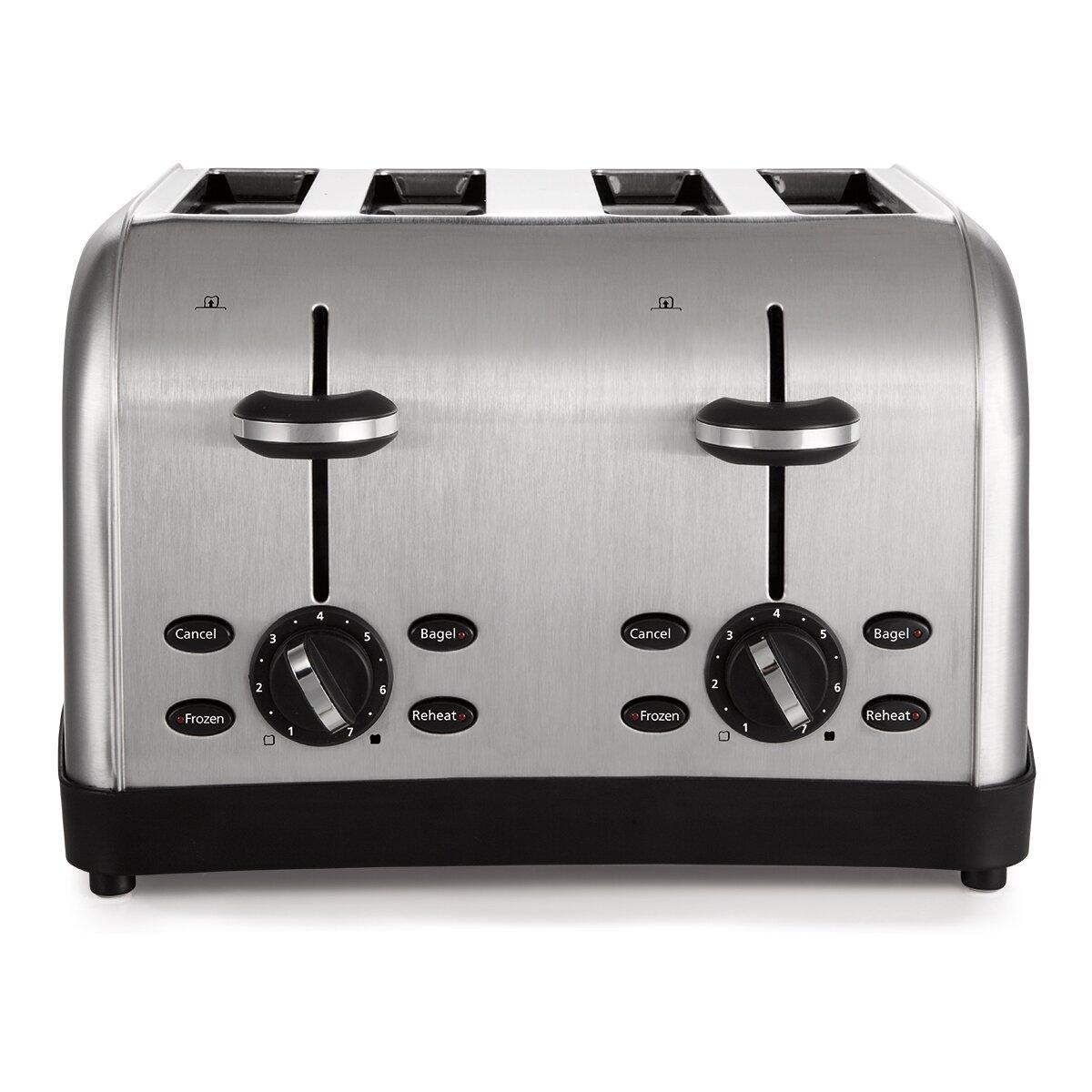 Oster 4 Slice Toaster Amp Reviews Wayfair