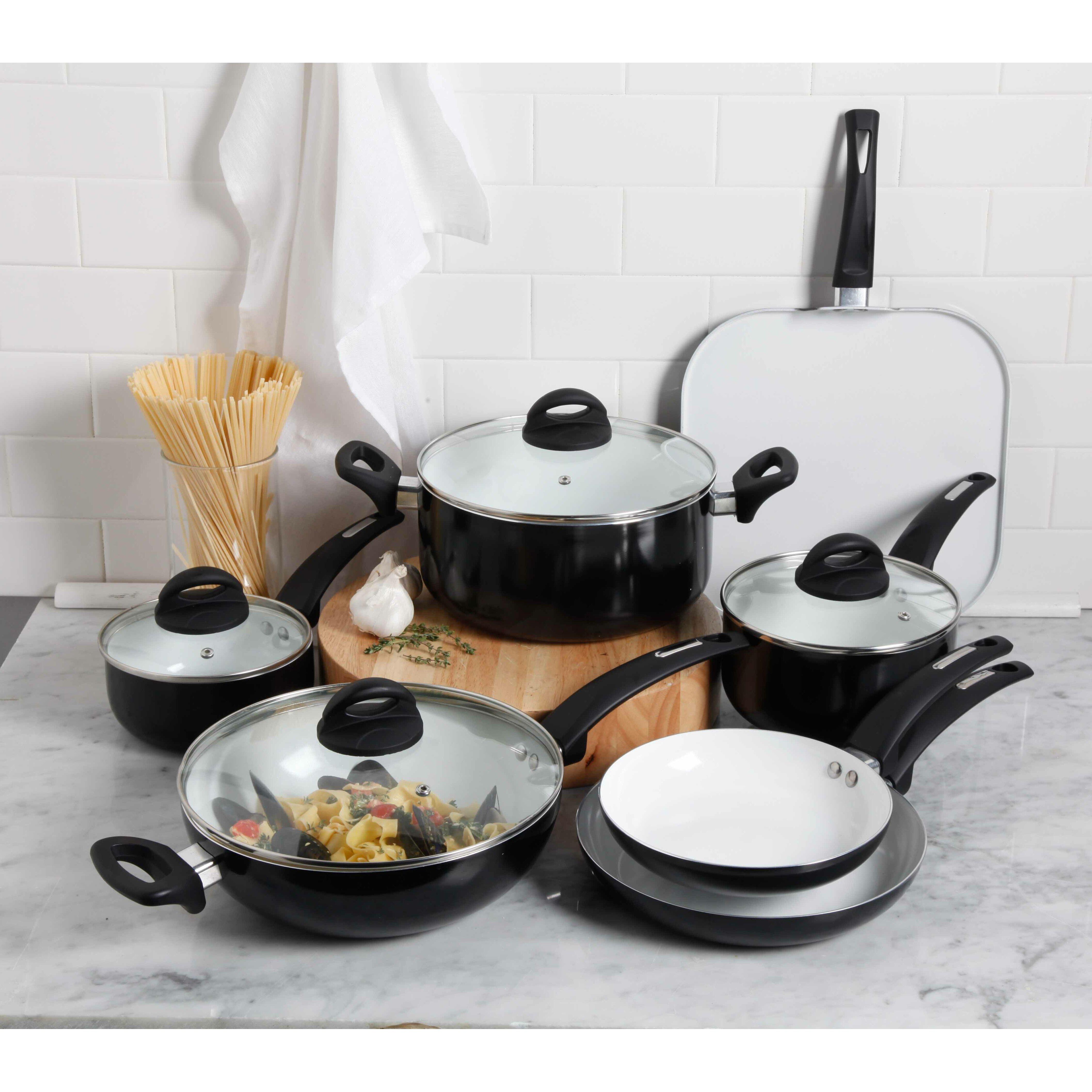Oster Herstal 11 Piece Ceramic Cookware Set Reviews