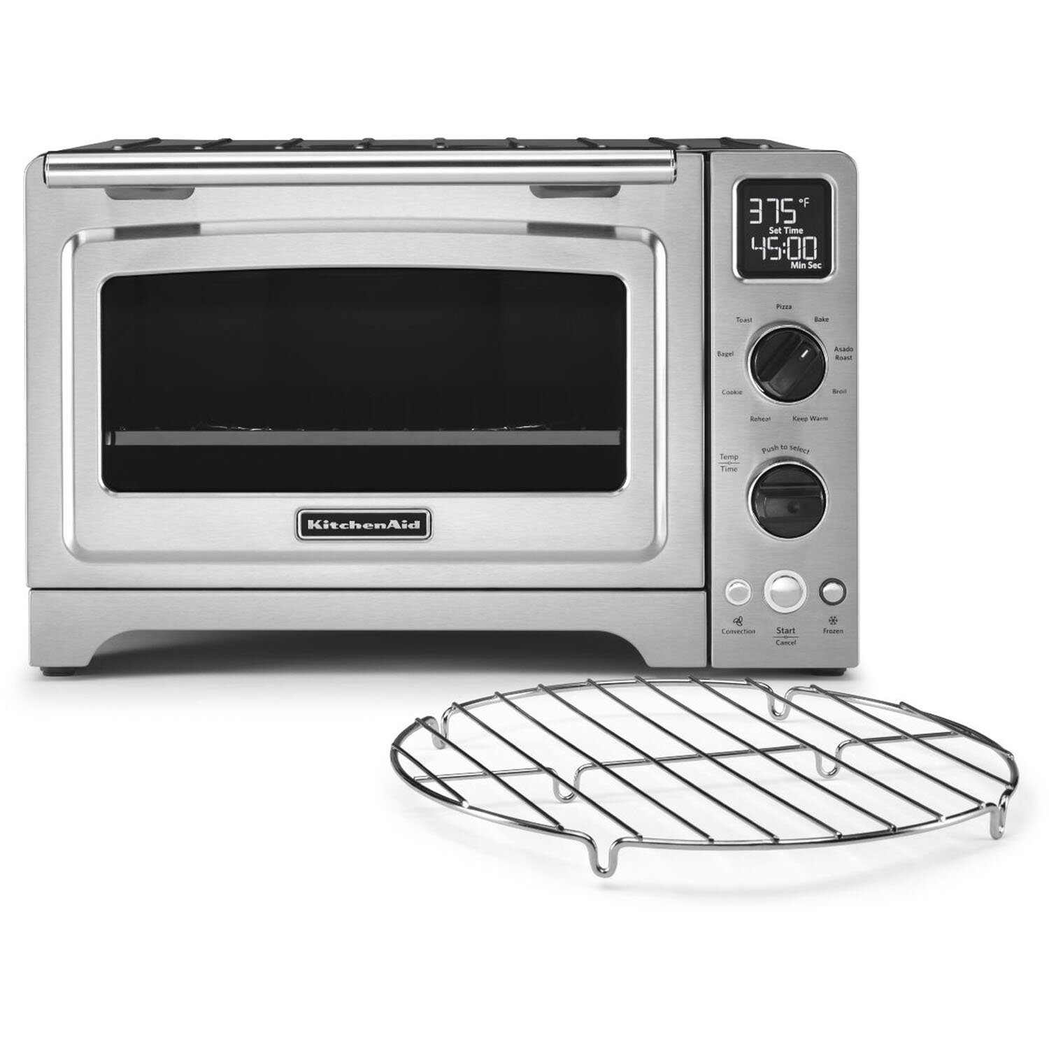 Convection Countertop Oven Stainless Steel : ... Foot Stainless Steel Convection Countertop Oven & Reviews Wayfair