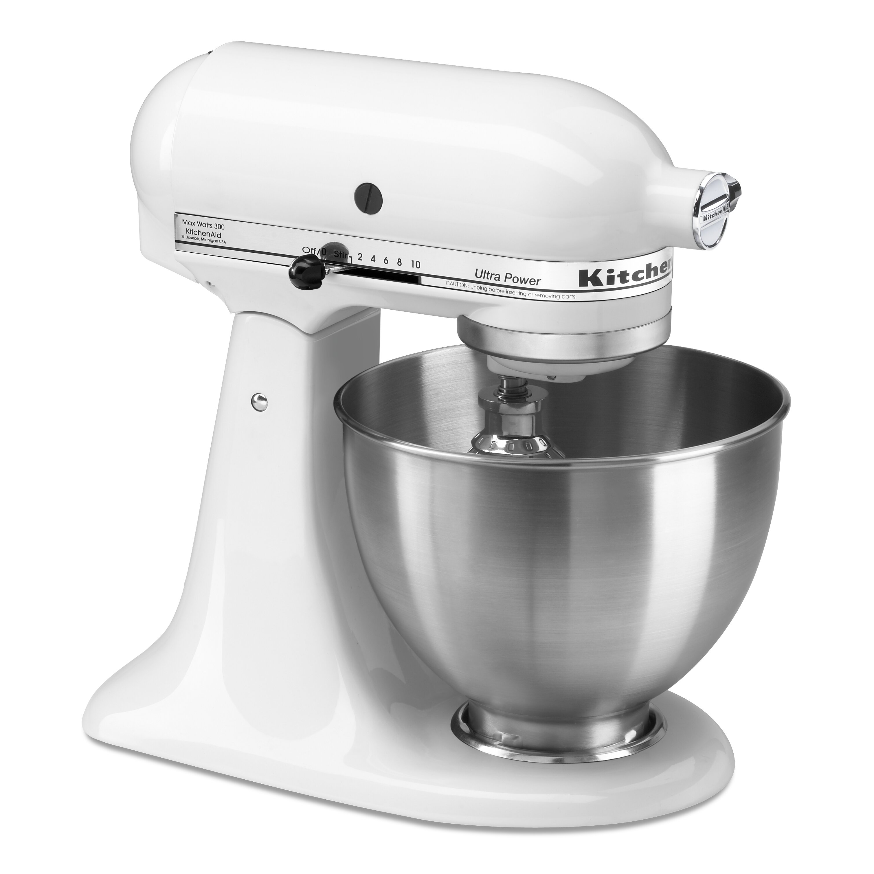 Kitchenaid ultra power series 4 5 qt stand mixer reviews wayfair - Kitchenaid qt mixer review ...