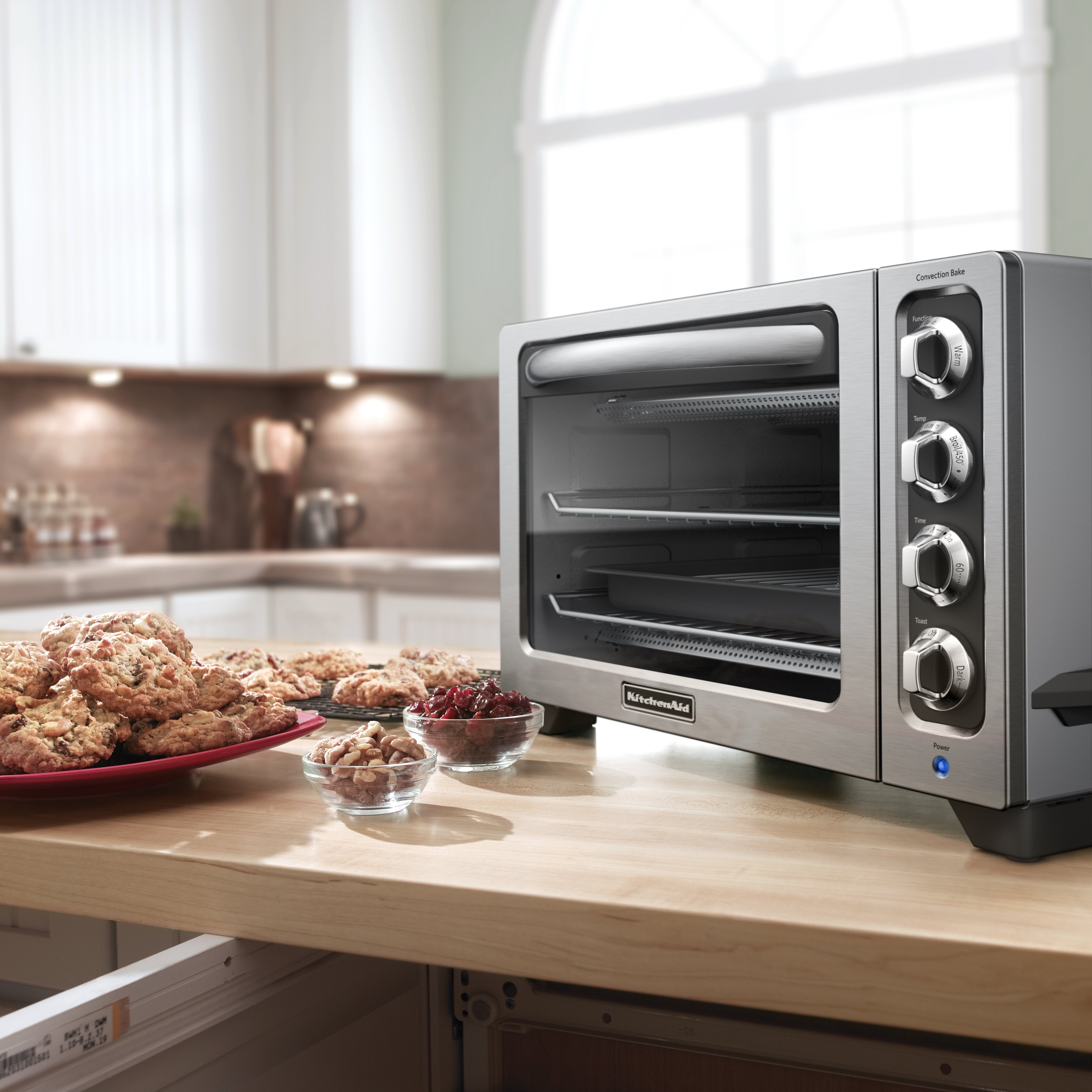 reviews page kitchenaid com qvc countertop and cutting product toaster interior light w boar oven