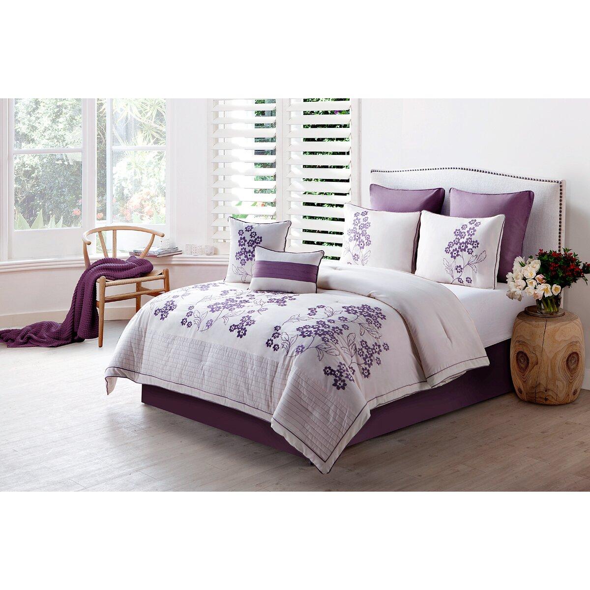 Luxury Home Aurosa 8 Piece forter Set