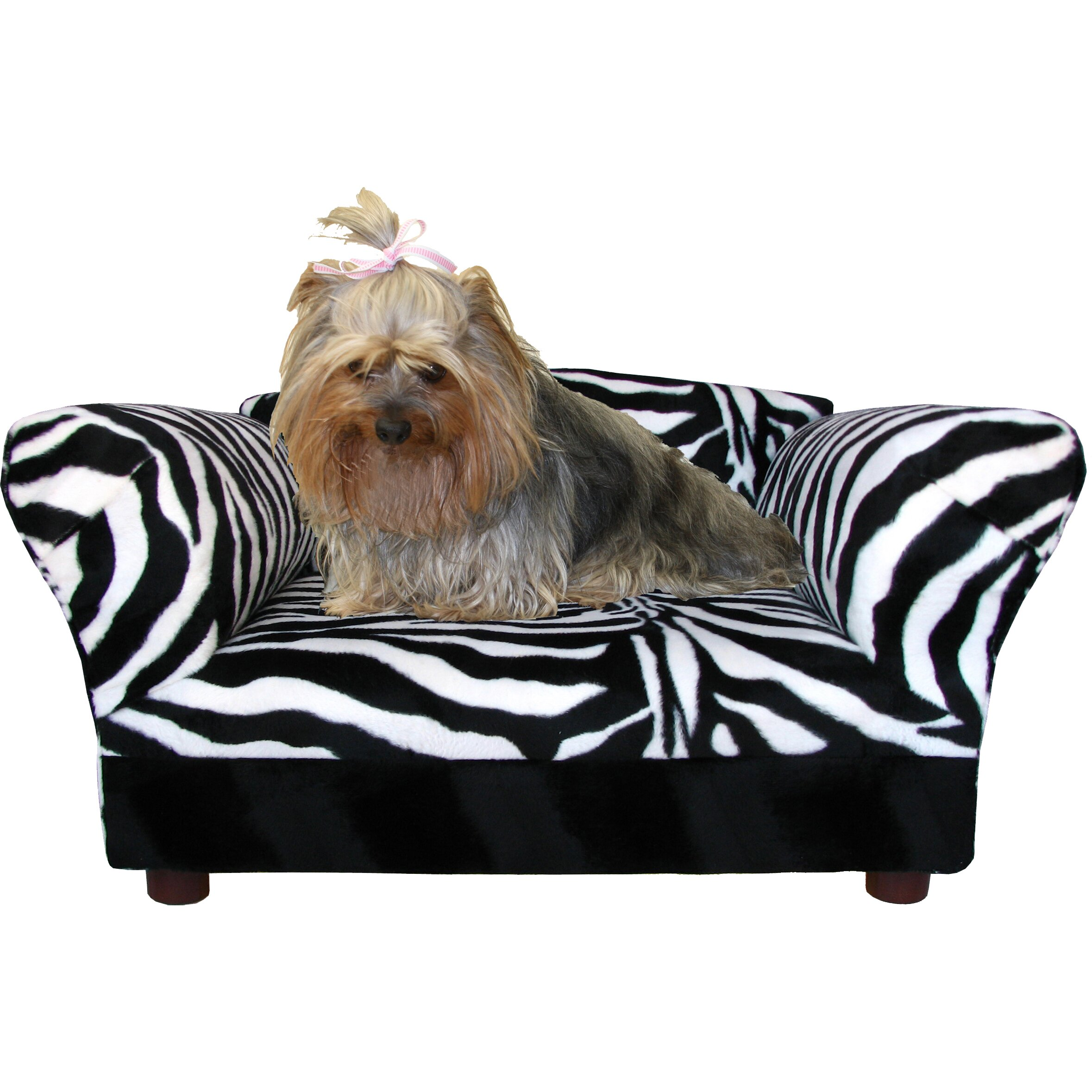 Keet Mini Dog Sofa Bed With Wooden Legs & Reviews