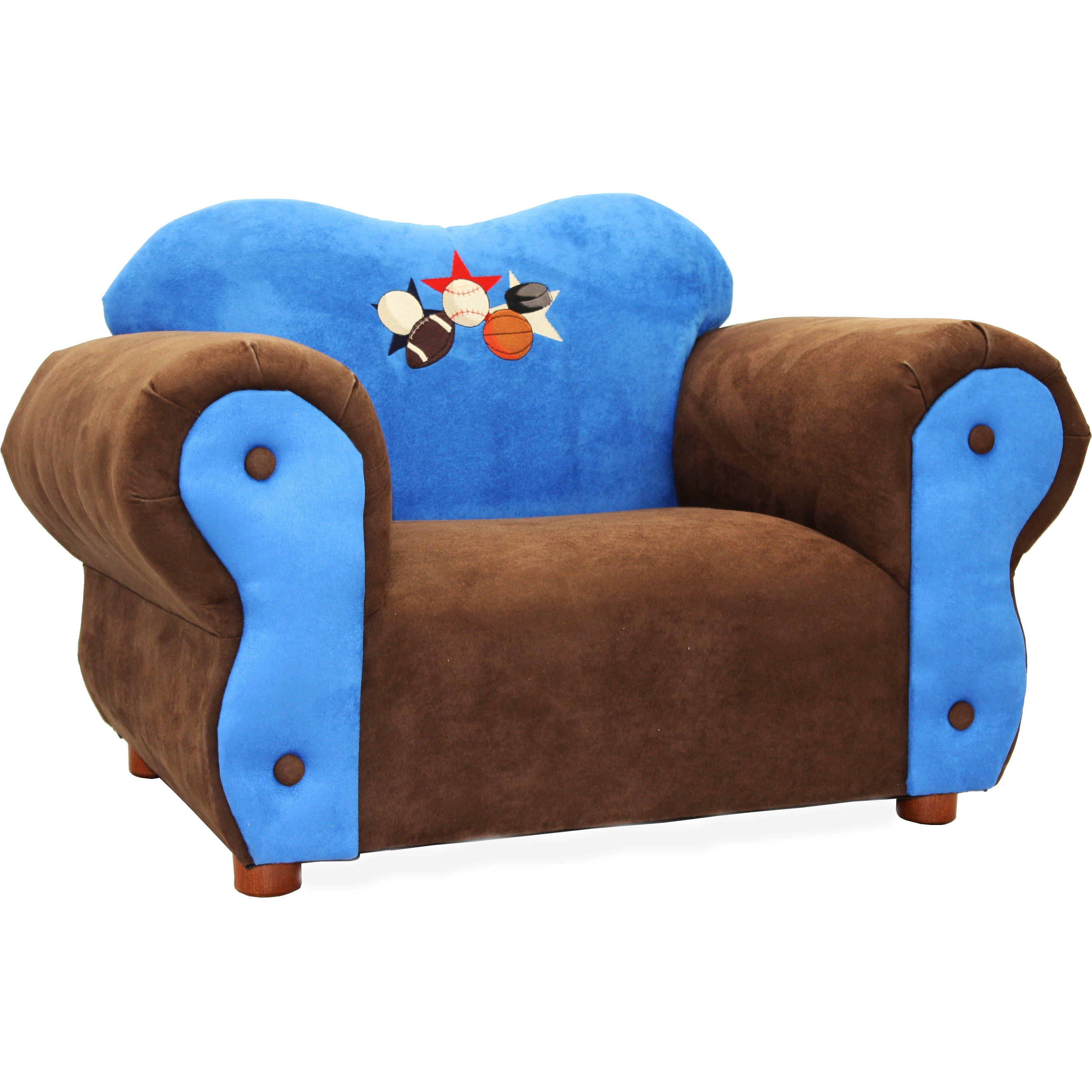 Keet comfy kids club chair reviews wayfair for Kids comfy chair