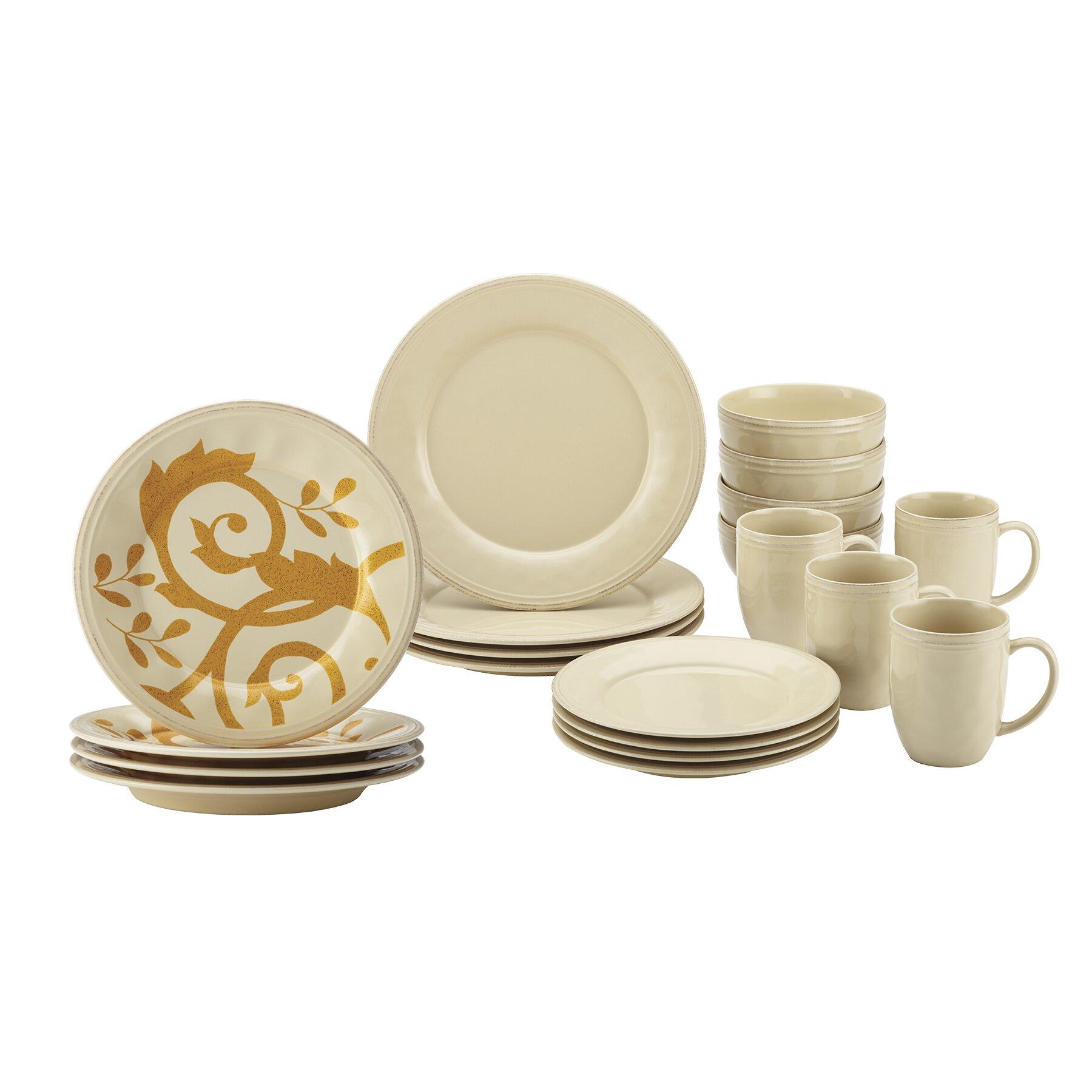 Rachael ray 20 piece dinnerware set wayfair