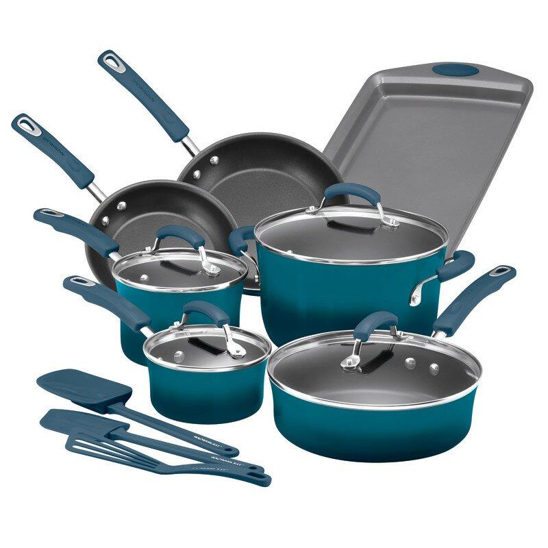 Rachael Ray 14 Piece Non Stick Cookware Set Reviews