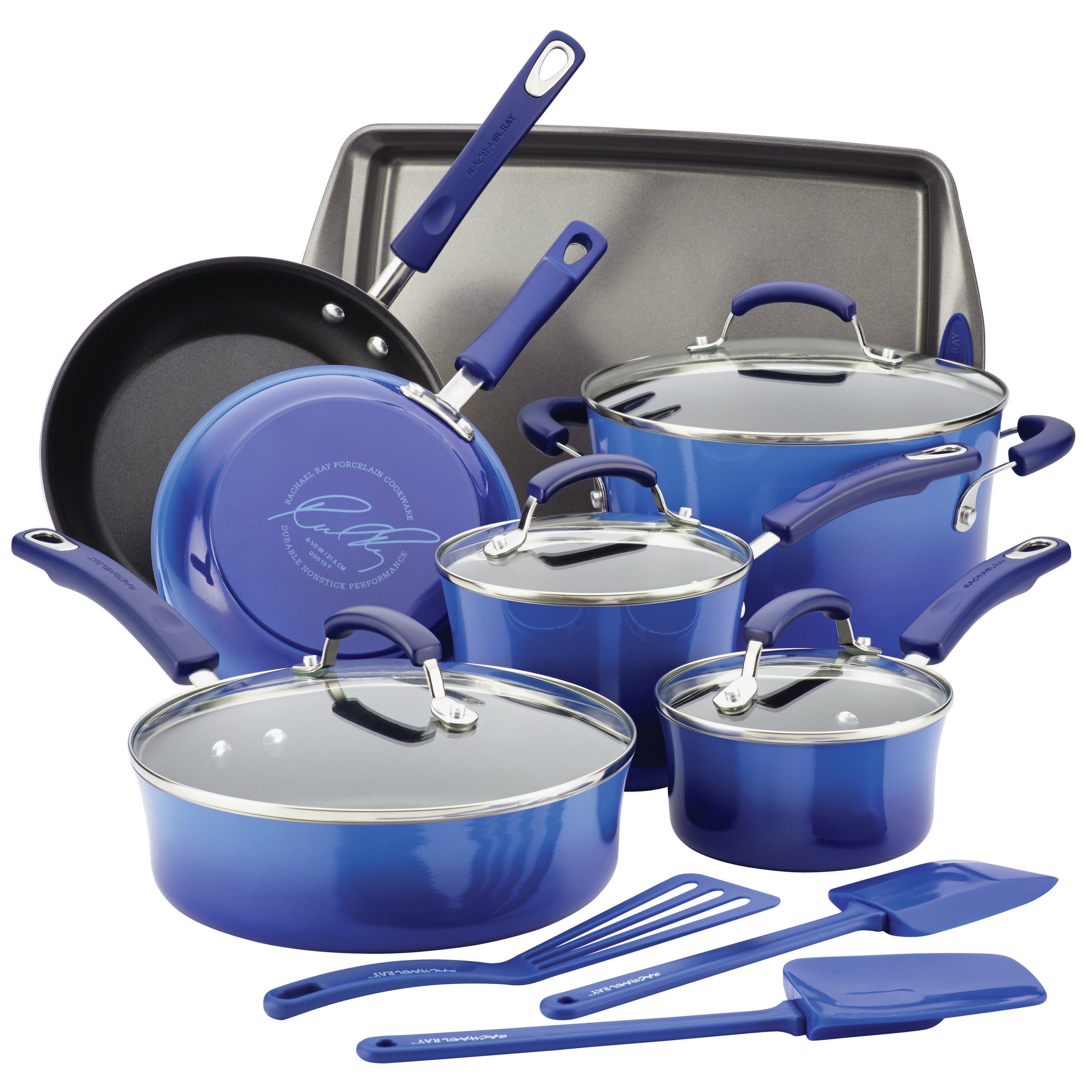 Rachael Ray 14 Piece Non Stick Cookware Set Amp Reviews