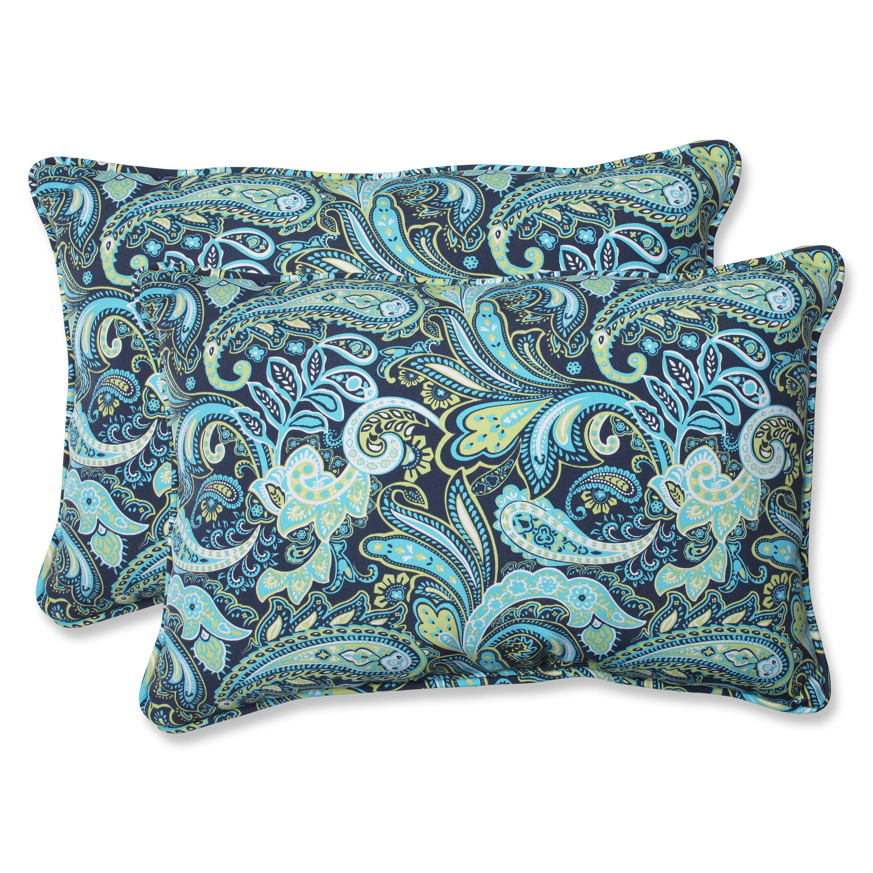 Pillow Perfect Pretty Indoor/Outdoor Throw Pillow & Reviews Wayfair