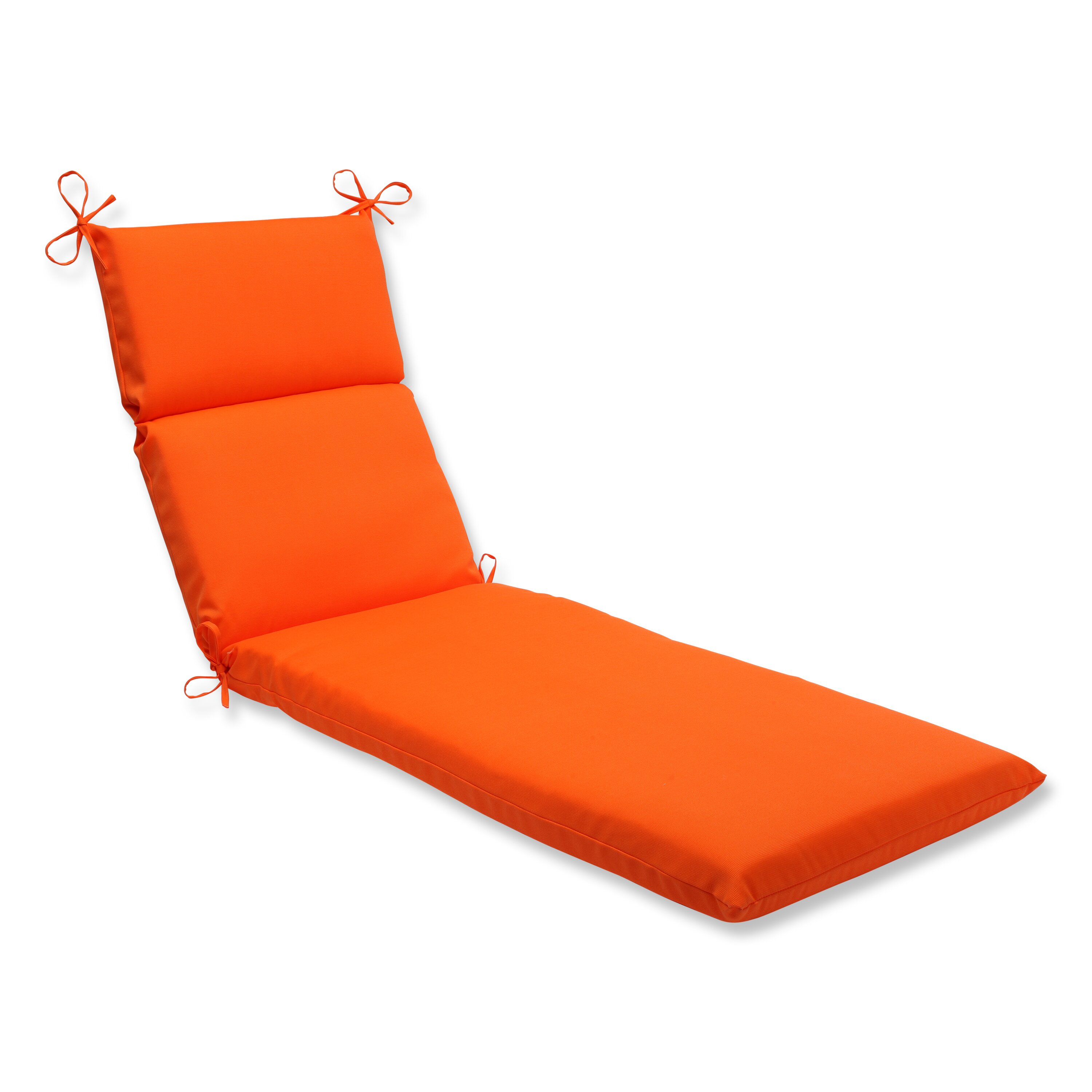 Pillow perfect sundeck outdoor chaise lounge cushion for Chaise lounge cushion covers outdoor