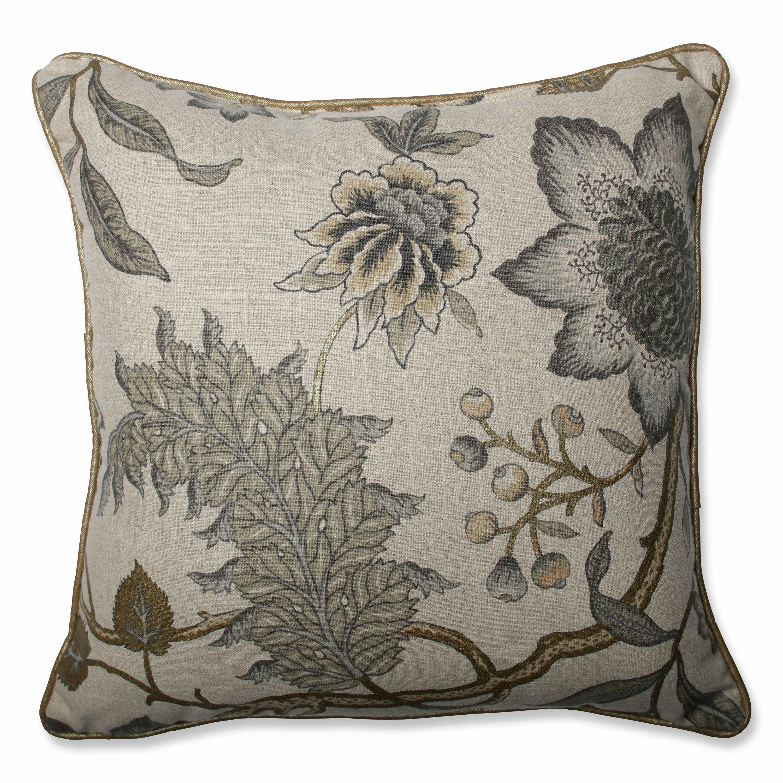 Jacobean Throw Pillows : Pillow Perfect Jacobean Flair Vermeil Throw Pillow & Reviews Wayfair