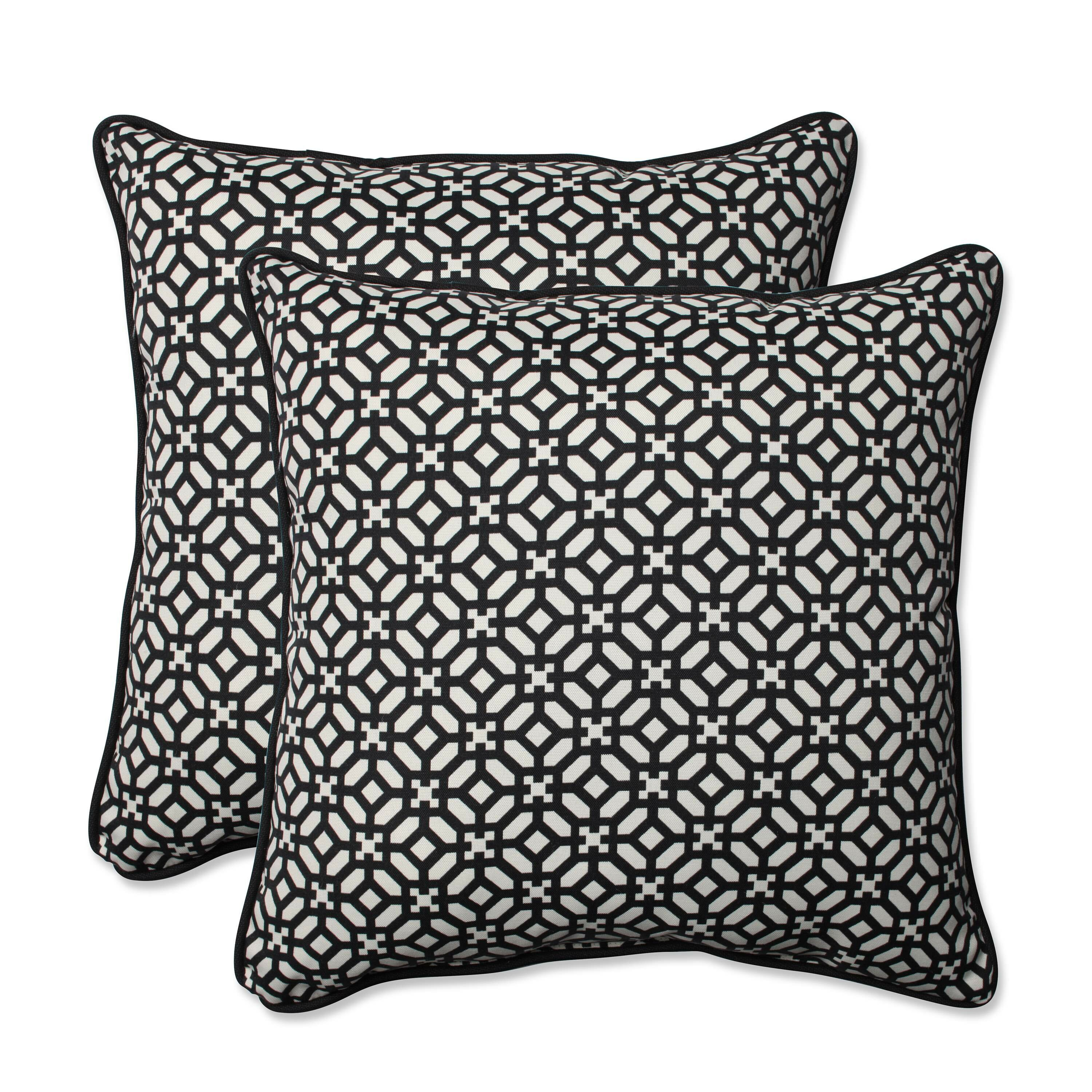 Throw Pillows In Abuja : Pillow Perfect In the Frame Indoor/Outdoor Throw Pillow & Reviews Wayfair