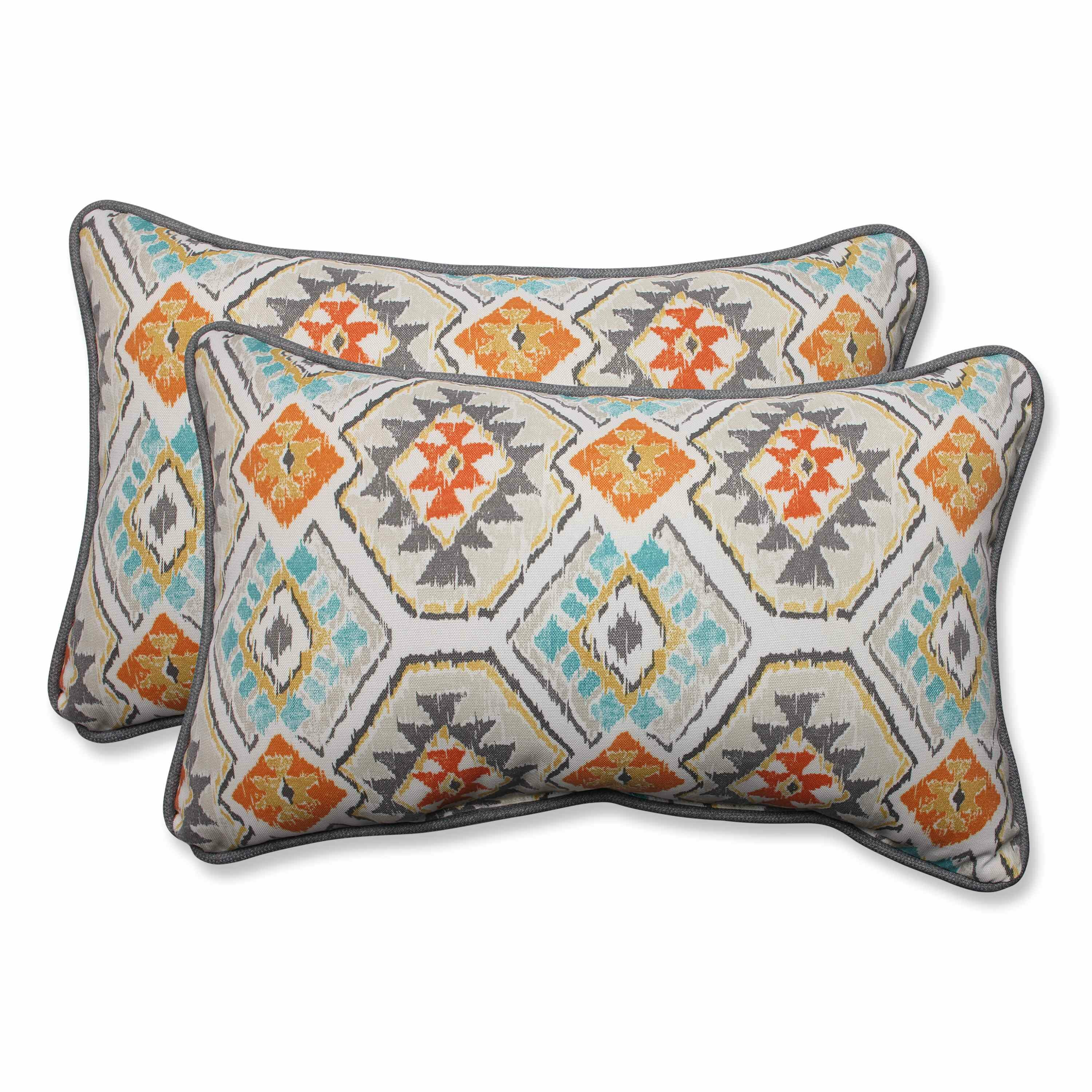 Throw Pillows In Abuja : Pillow Perfect Eresha Oasis Outdoor/Indoor Throw Pillow & Reviews Wayfair