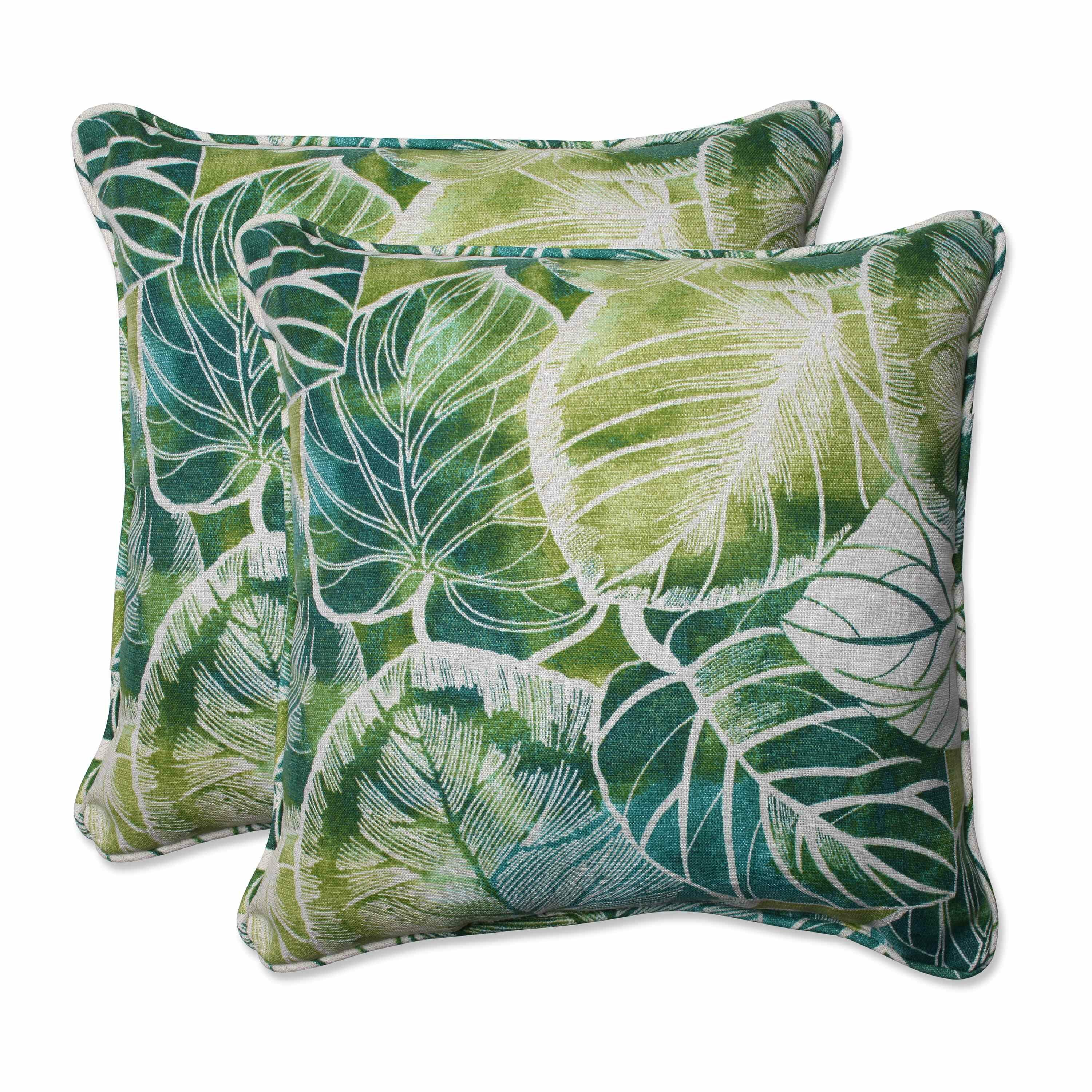 Throw Pillows In Abuja : Pillow Perfect Key Cove Lagoon Indoor/Outdoor Throw Pillow Wayfair