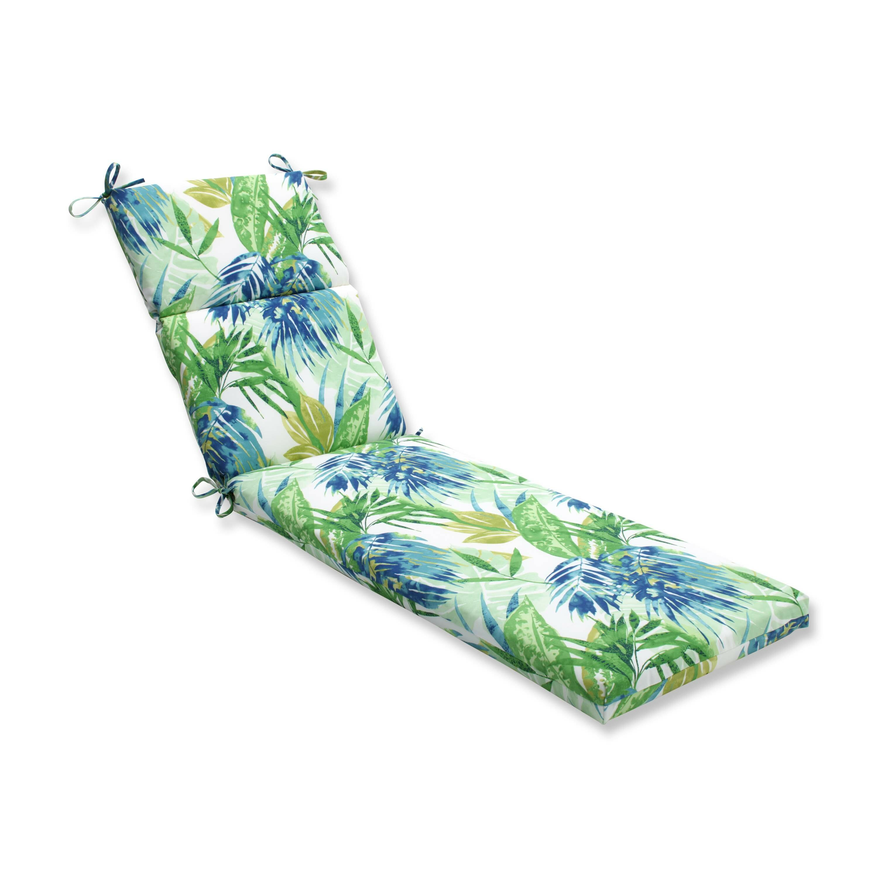 Pillow perfect soleil outdoor chaise lounge cushion for Chaise cushions outdoor