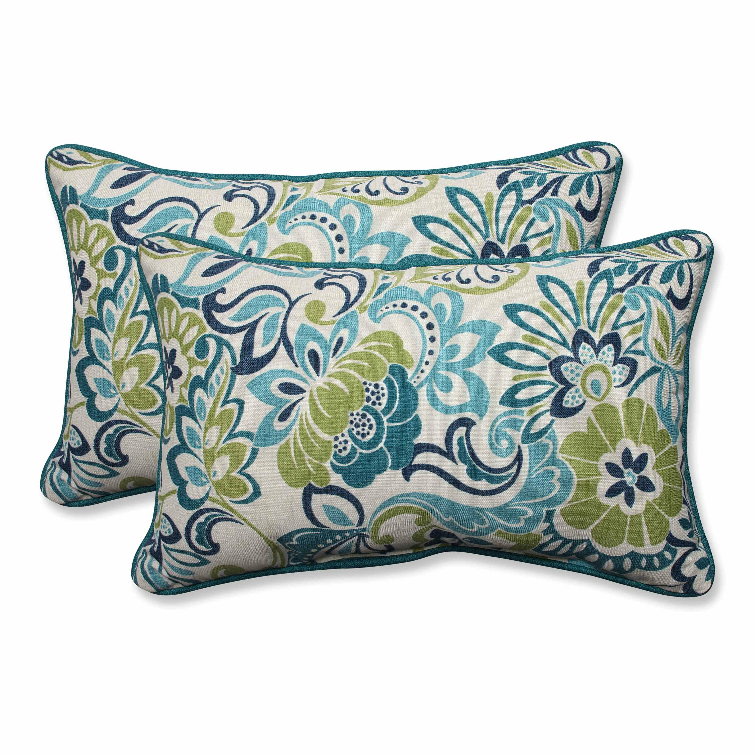 Throw Pillows In Abuja : Pillow Perfect Zoe Mallard Outdoor/Indoor Throw Pillow & Reviews Wayfair.ca