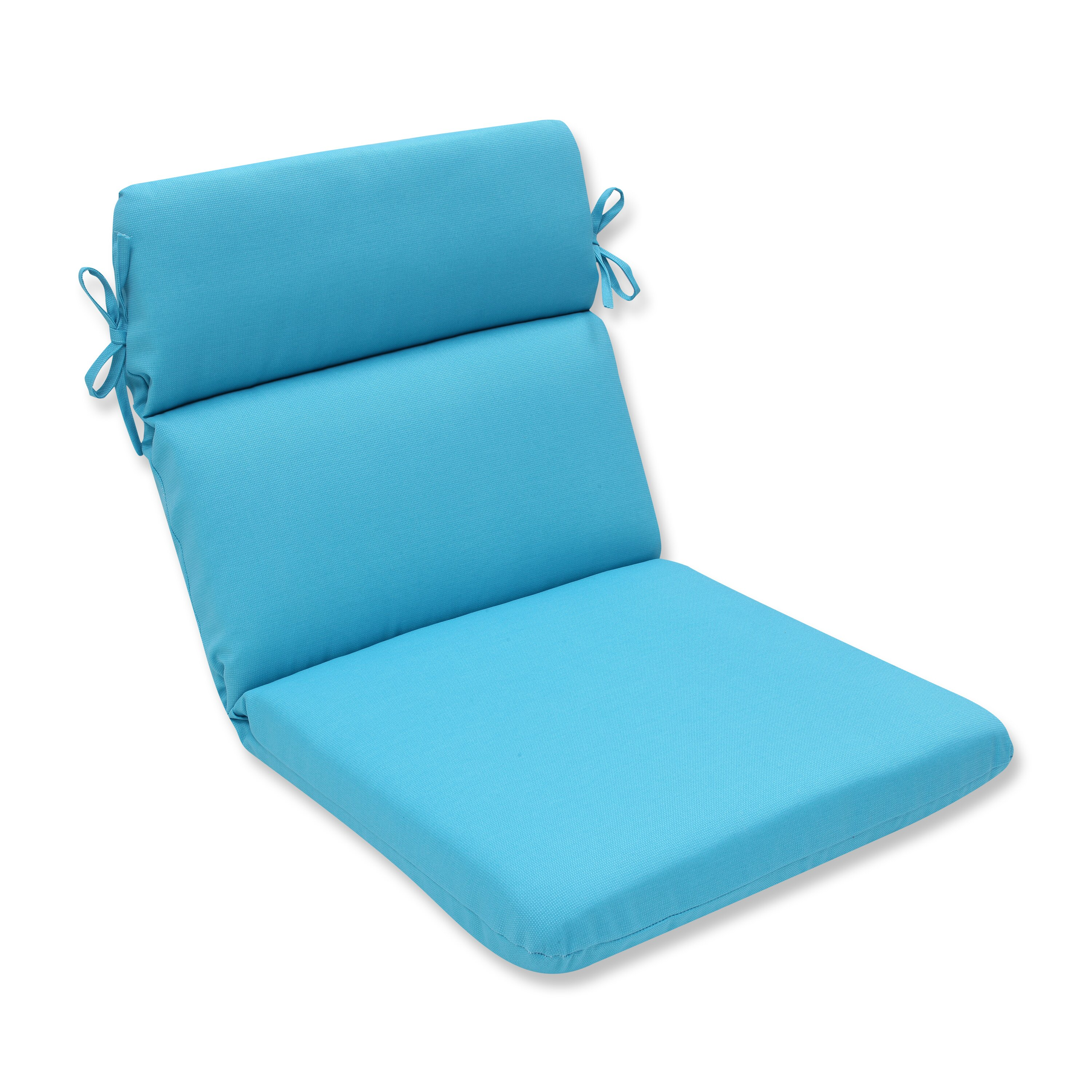 Pillow perfect veranda outdoor lounge chair cushion wayfair for Chair pillow