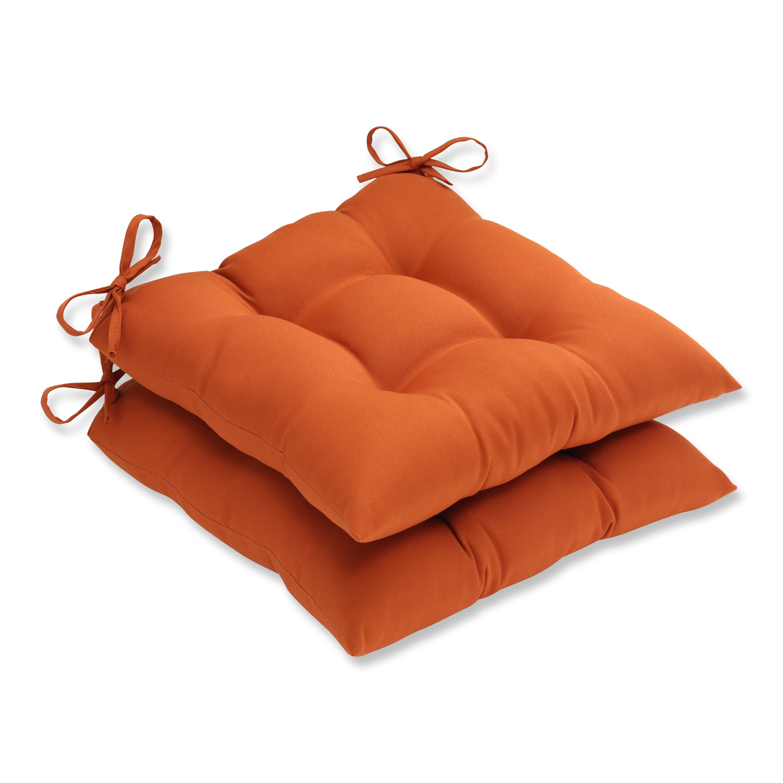 Pillow Perfect Cinnabar Outdoor Seat Cushion & Reviews