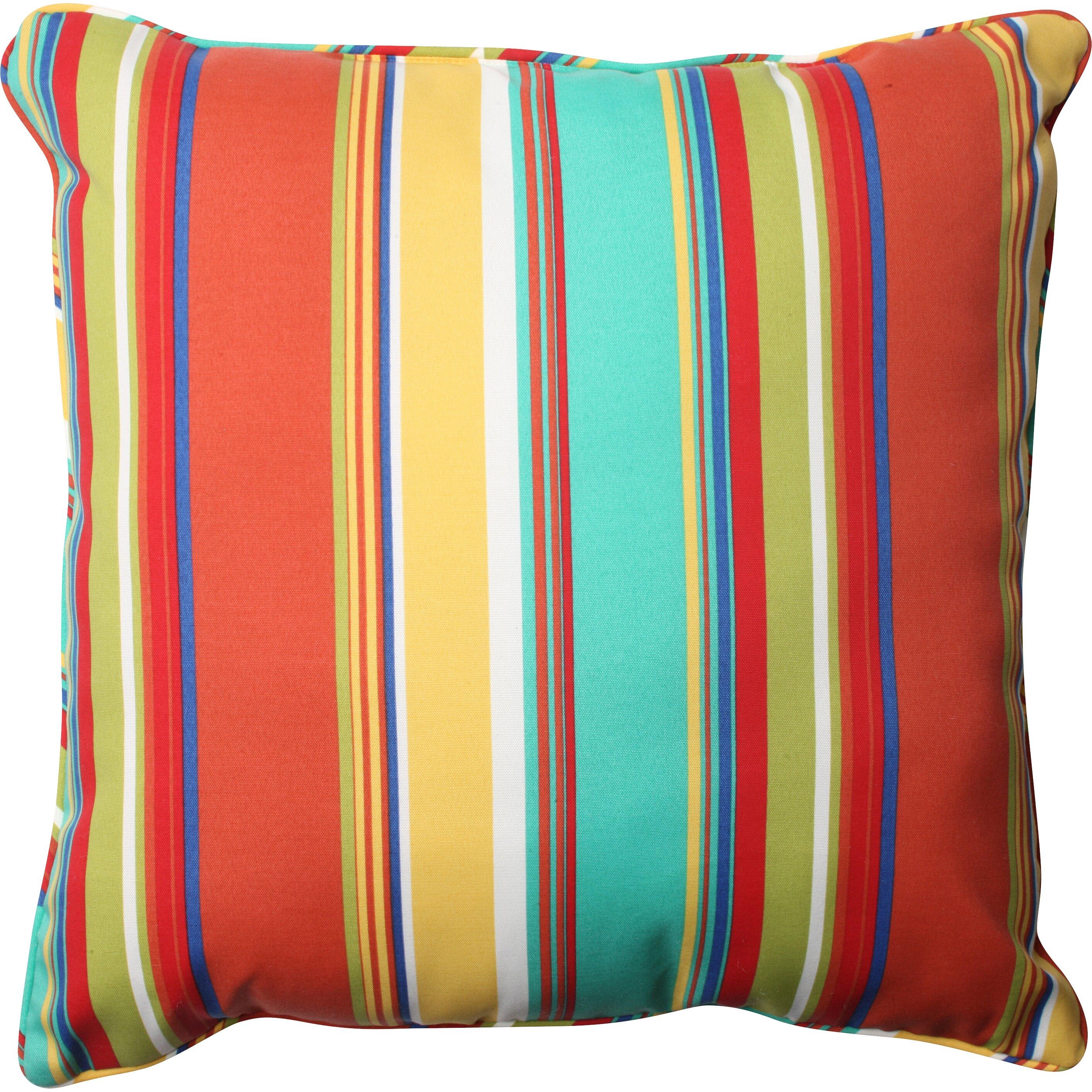 Pillow Perfect Westport Spring Indoor/Outdoor Floor Pillow Wayfair