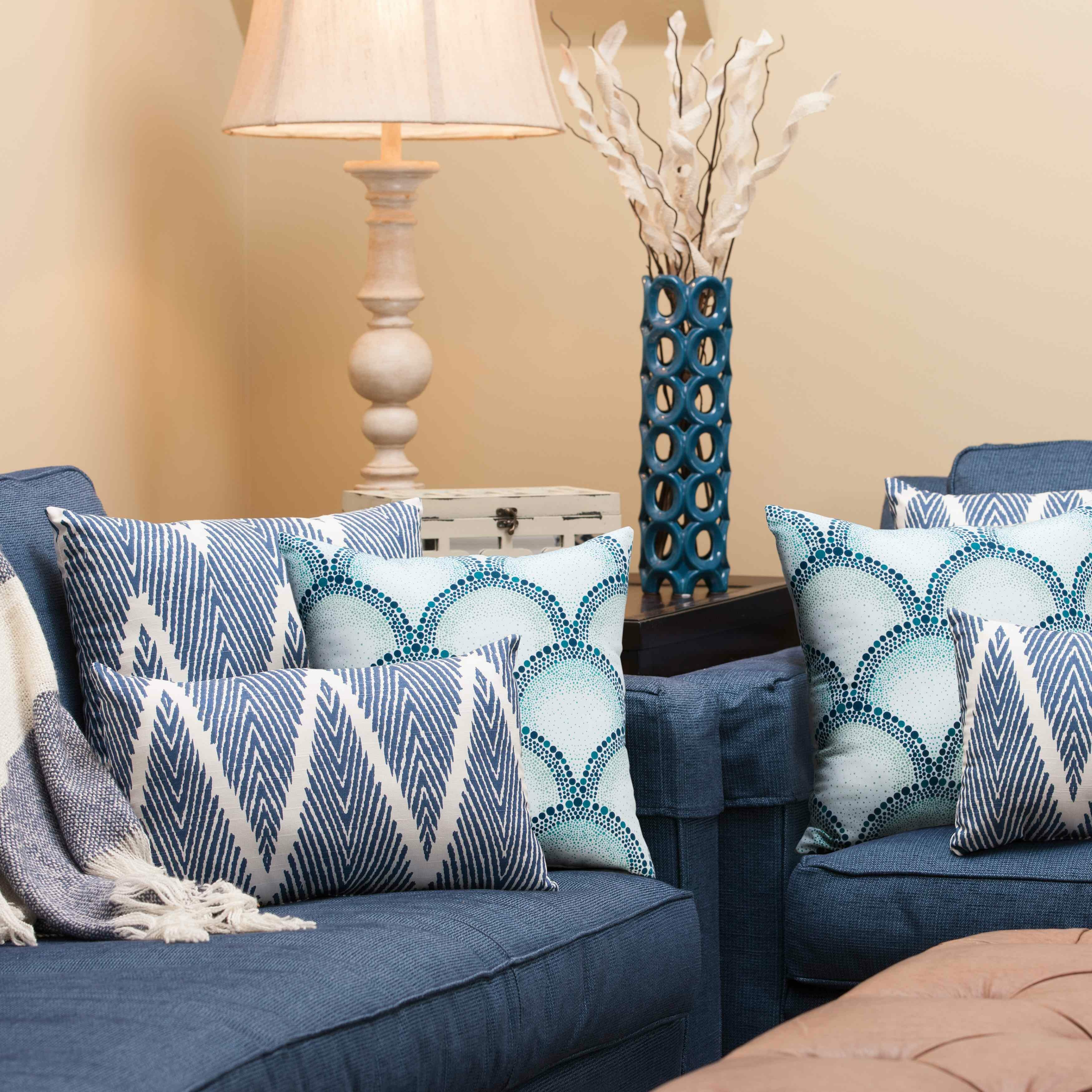 Wayfair Teal Throw Pillows : Pillow Perfect Shelamar Teal Cotton Throw Pillow & Reviews Wayfair