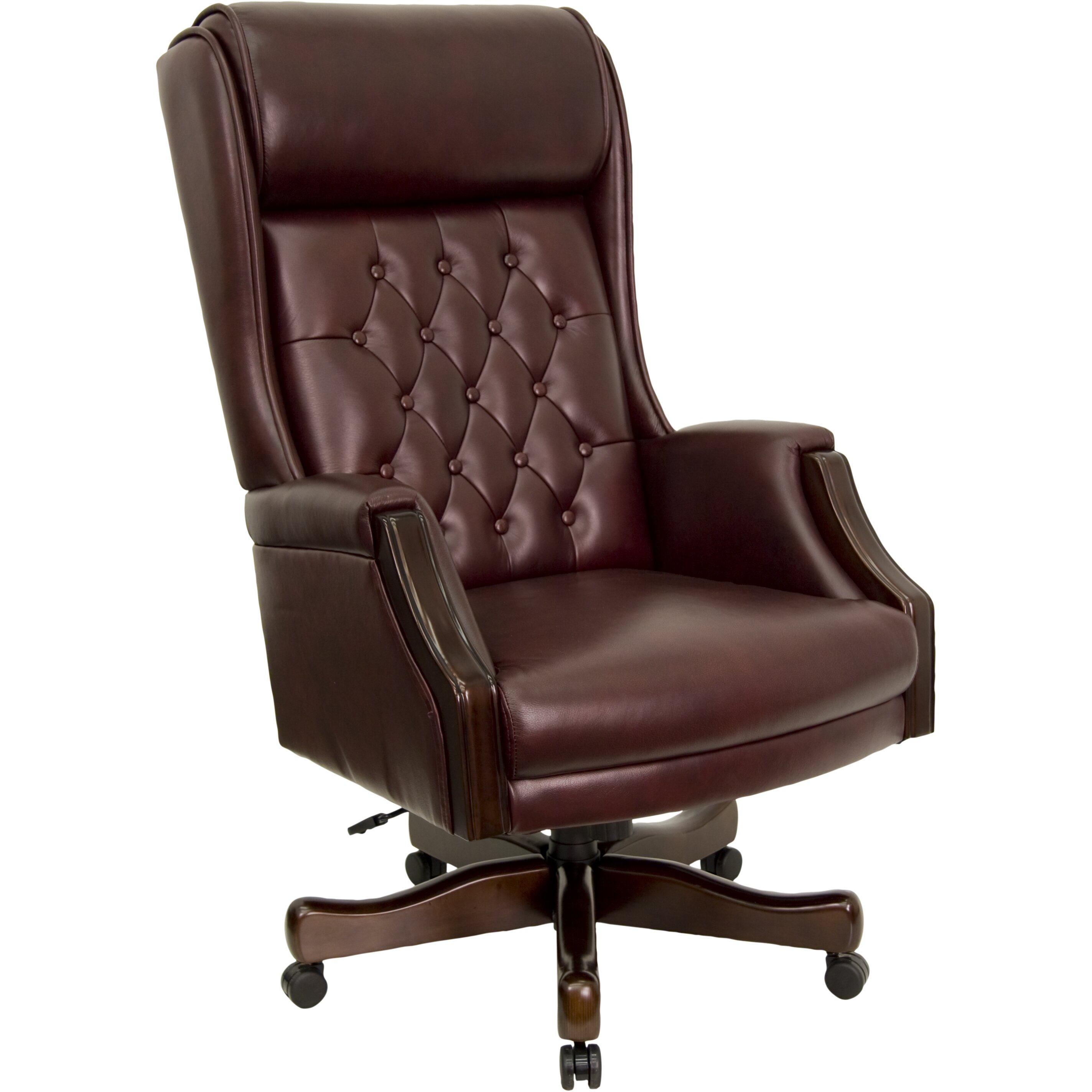 Flash Furniture High Back Leather Executive Office Chair