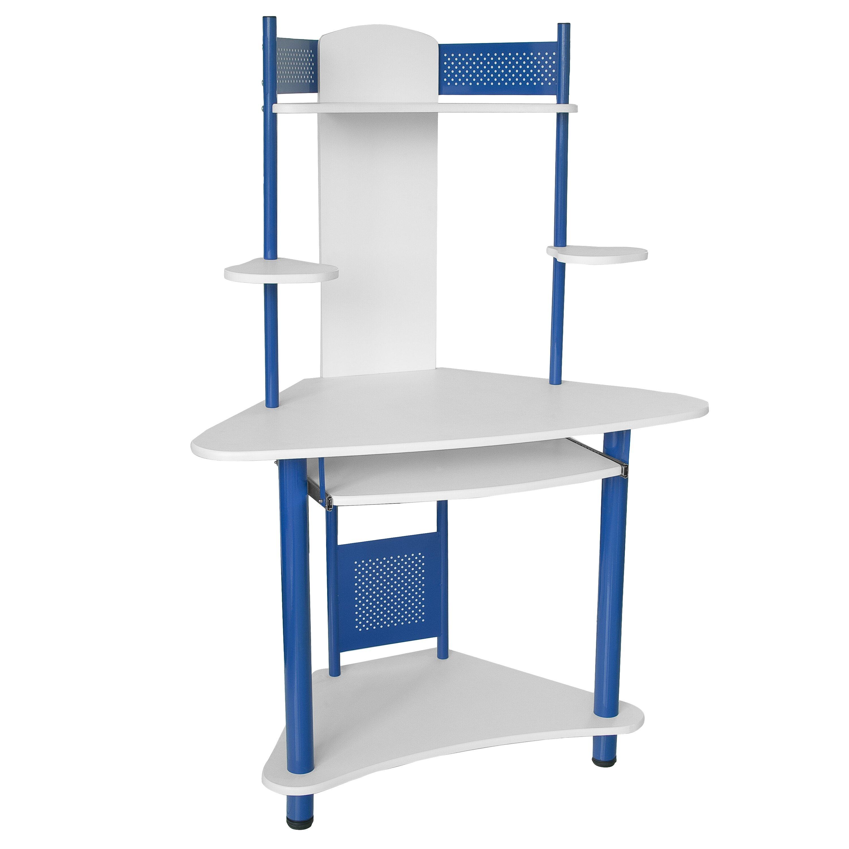 Flash Furniture Corner Computer Desk With Hutch Reviews Wayfair
