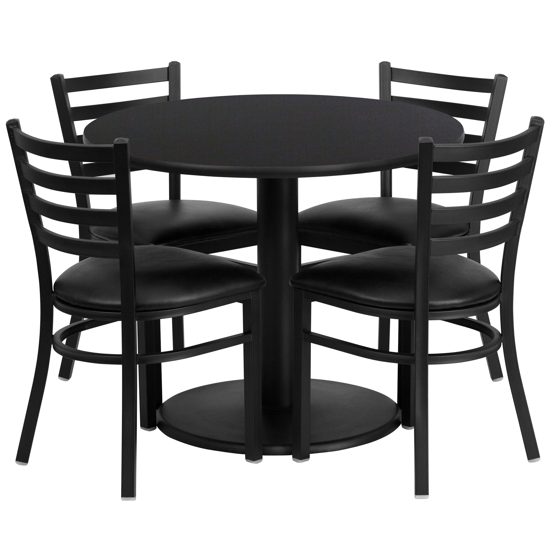 Flash Furniture 5 Piece Dining Set Reviews Wayfair