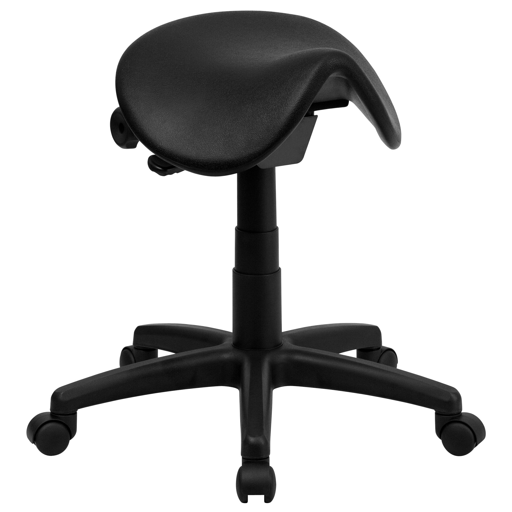 Flash Furniture Backless Saddle Stool Amp Reviews Wayfair
