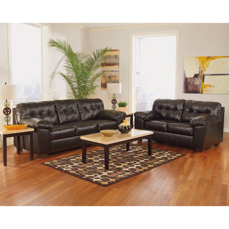Flash furniture alliston 2 piece signature design by for Piece of living room decor