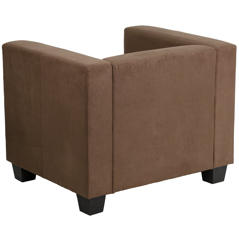 Flash furniture prestige series microfiber arm chair wayfair