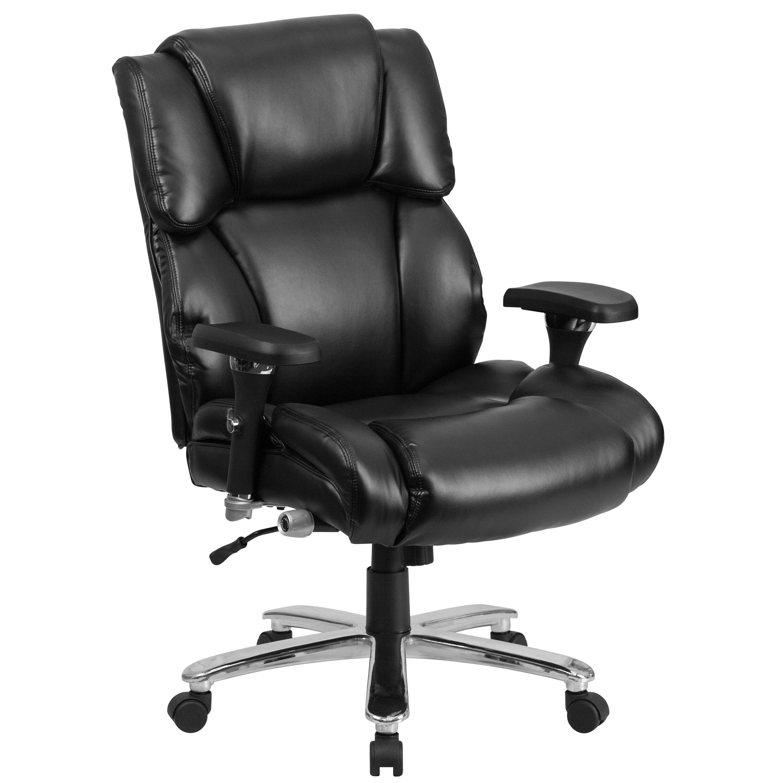 Flash Furniture Hercules Series Leather Executive Chair Reviews Wayfair