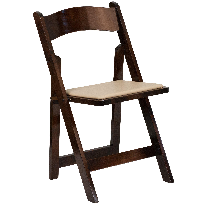 Red Barrel Studio Alchemist Folding Chair With Padded Seat