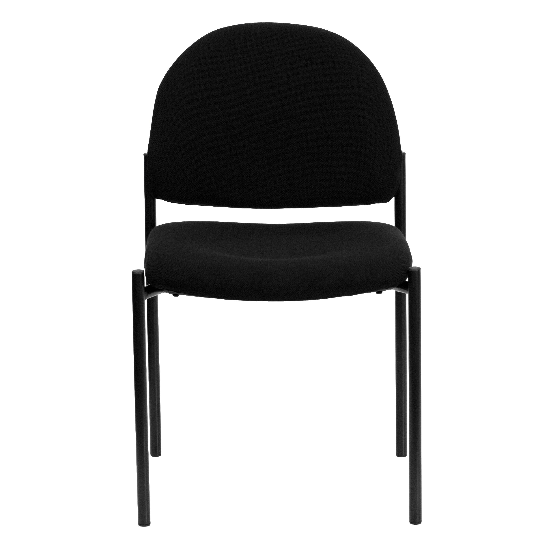 Flash Furniture Stacking Chairs Flash Furniture Flash Furniture Black Vinyl Comfortable Flash