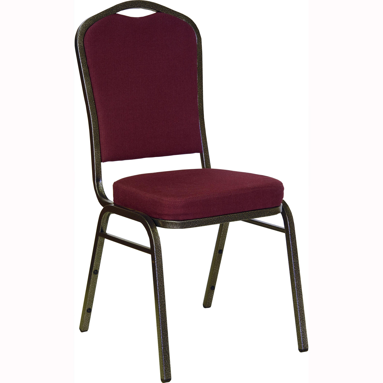 Flash Furniture Hercules Series Crown Back Banquet Chair With Cushion Reviews Wayfair