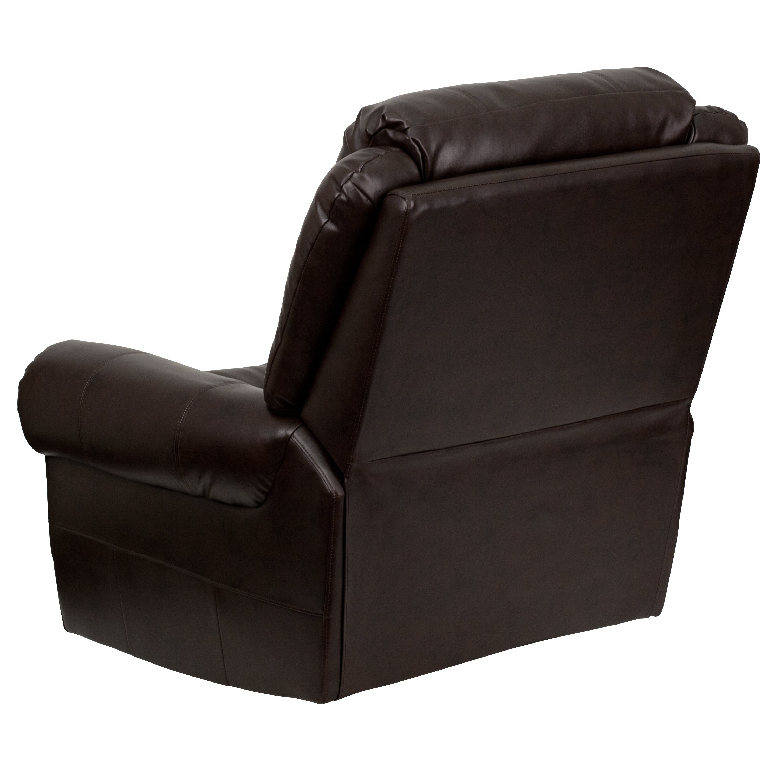 Flash Furniture Leather Chaise Recliner Reviews Wayfair Supply