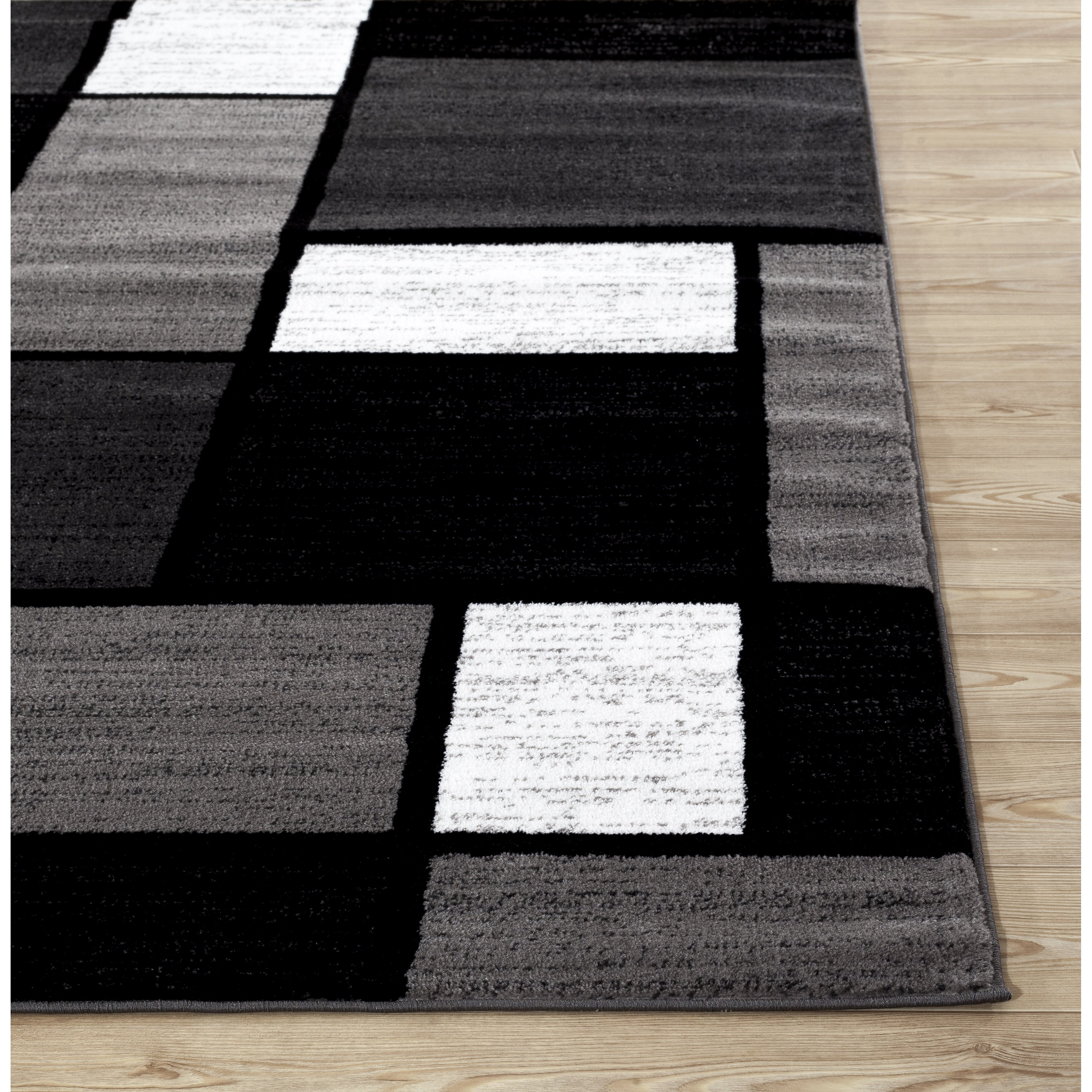 World Rug Gallery Alpine Gray Area Rug Amp Reviews Wayfair