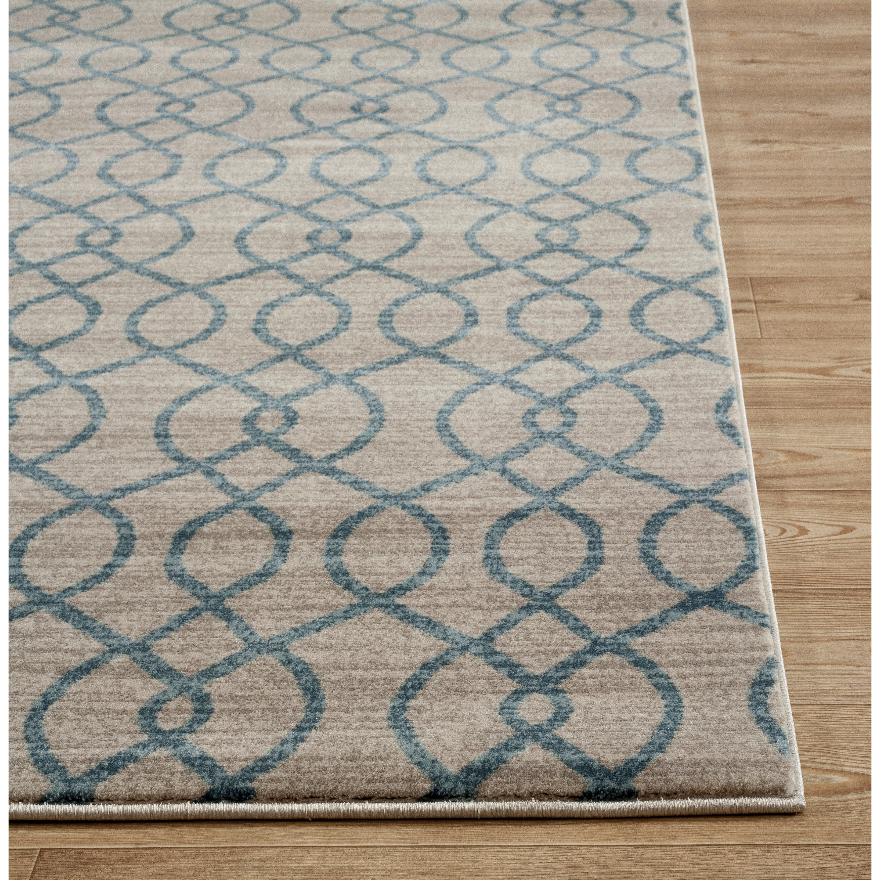 World rug gallery elite soft blue area rug wayfair for Soft area rugs