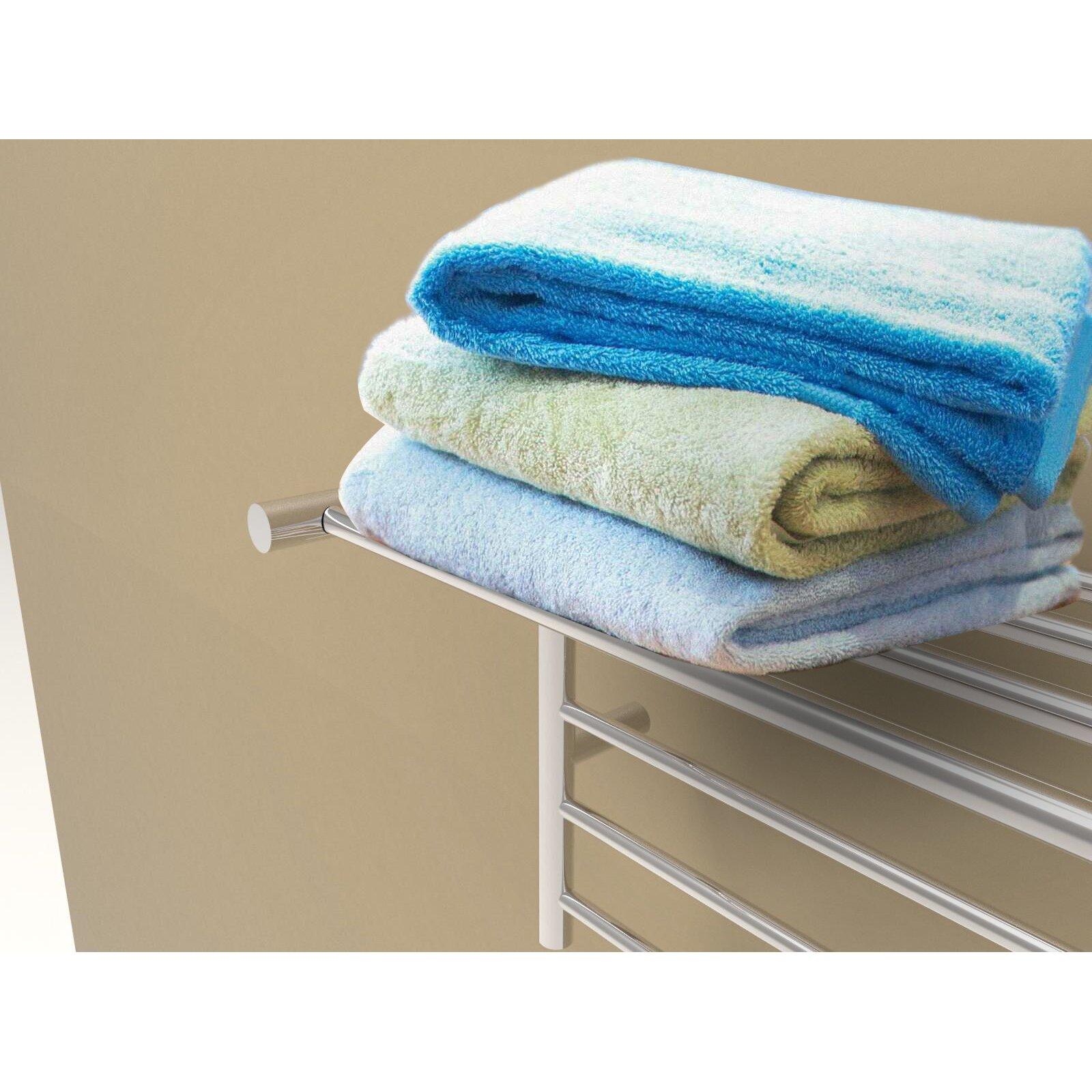 Wall Mounted Electric Towel Warmer ~ Amba radiant wall mount electric towel warmer wayfair