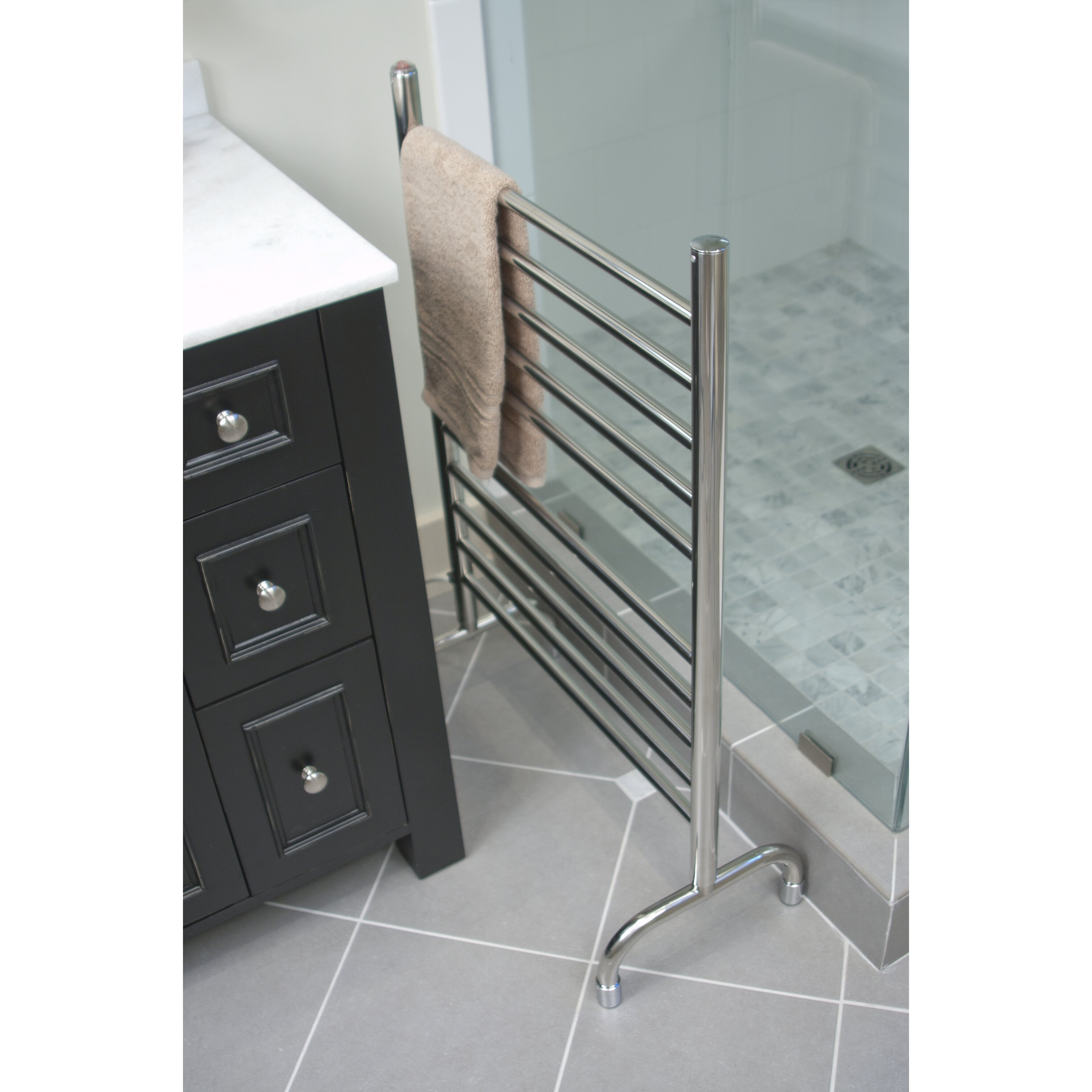 Electric Towel Warmer ~ Amba solo freestanding electric towel warmer reviews