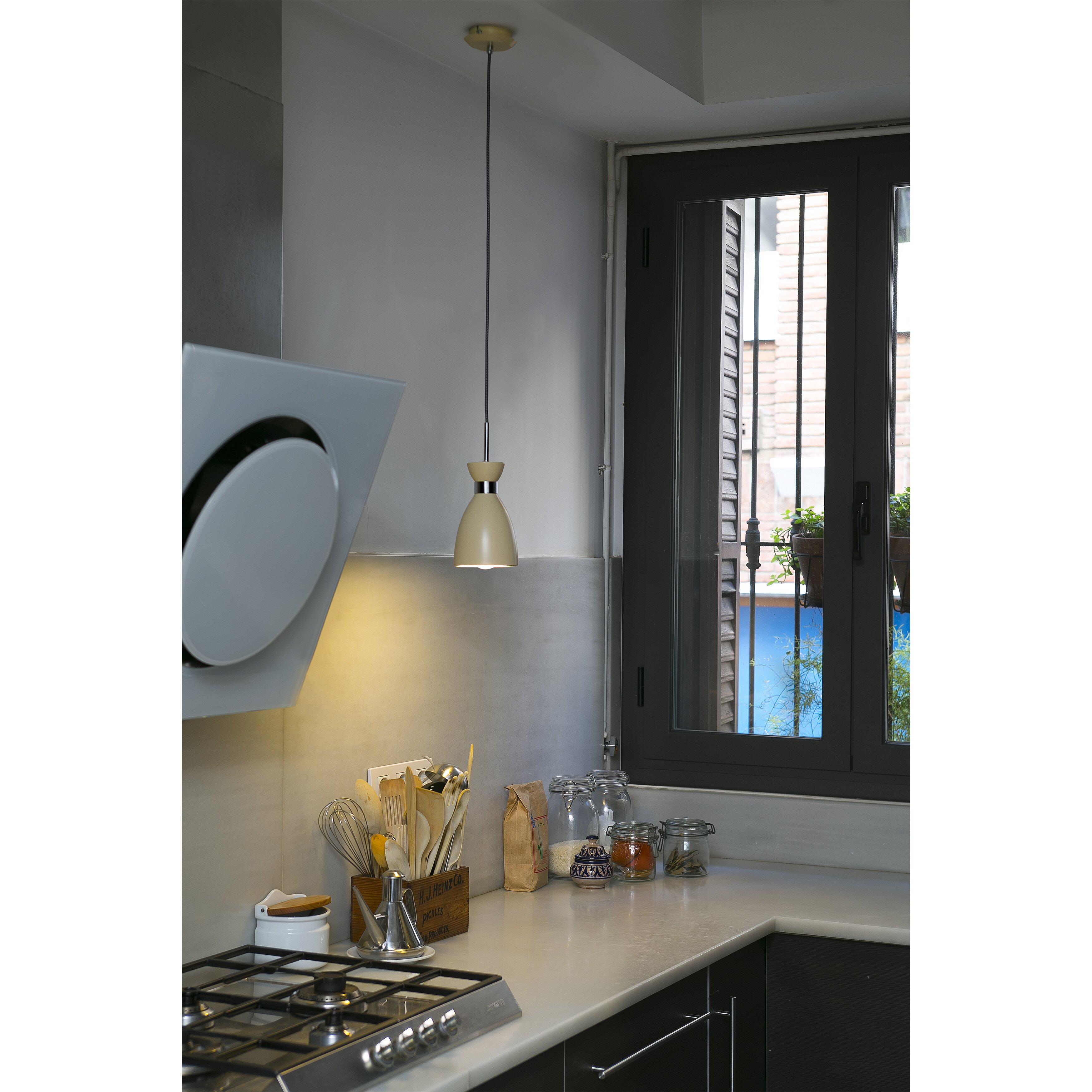 faro mini pendelleuchte 1 flammig retro. Black Bedroom Furniture Sets. Home Design Ideas