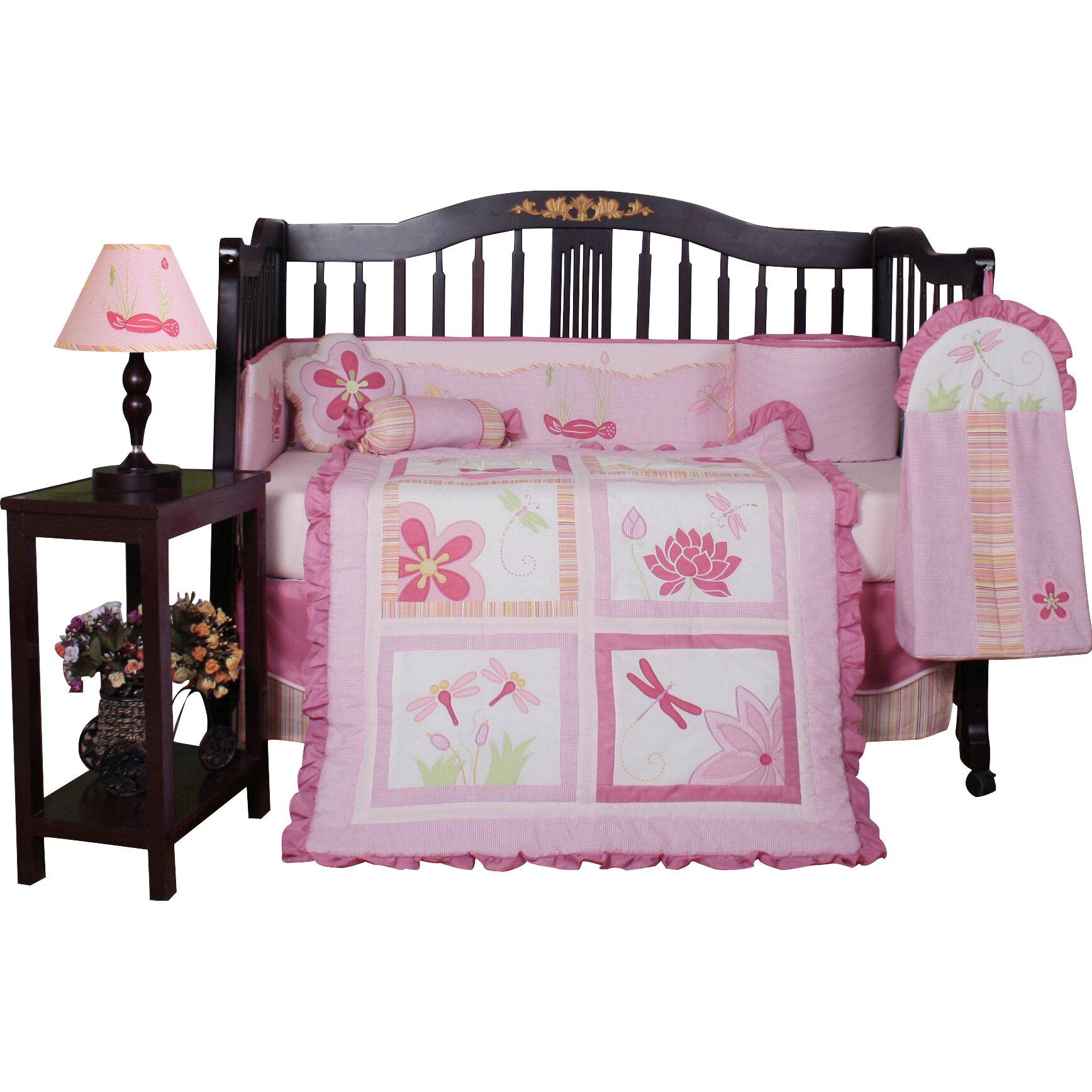 Geenny Dragonfly Crib Bedding