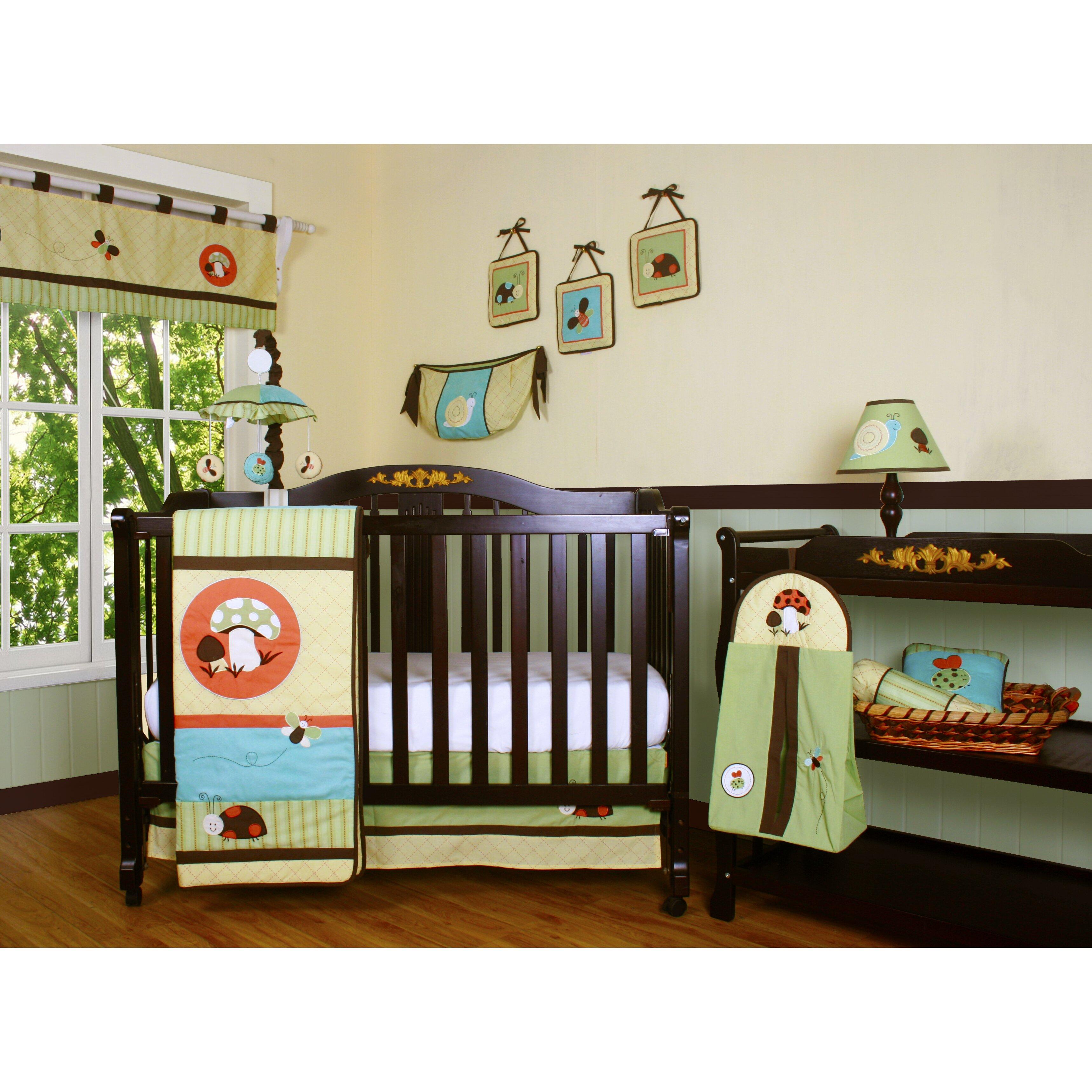 Geenny Boutique Garden Paradise 13 Piece Crib Bedding Set ...