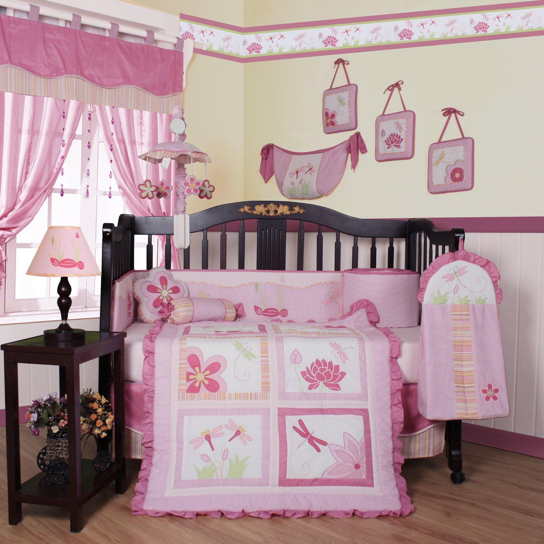 Geenny boutique dragonfly 13 piece crib bedding set reviews wayfair - Geenny crib bedding sets ...