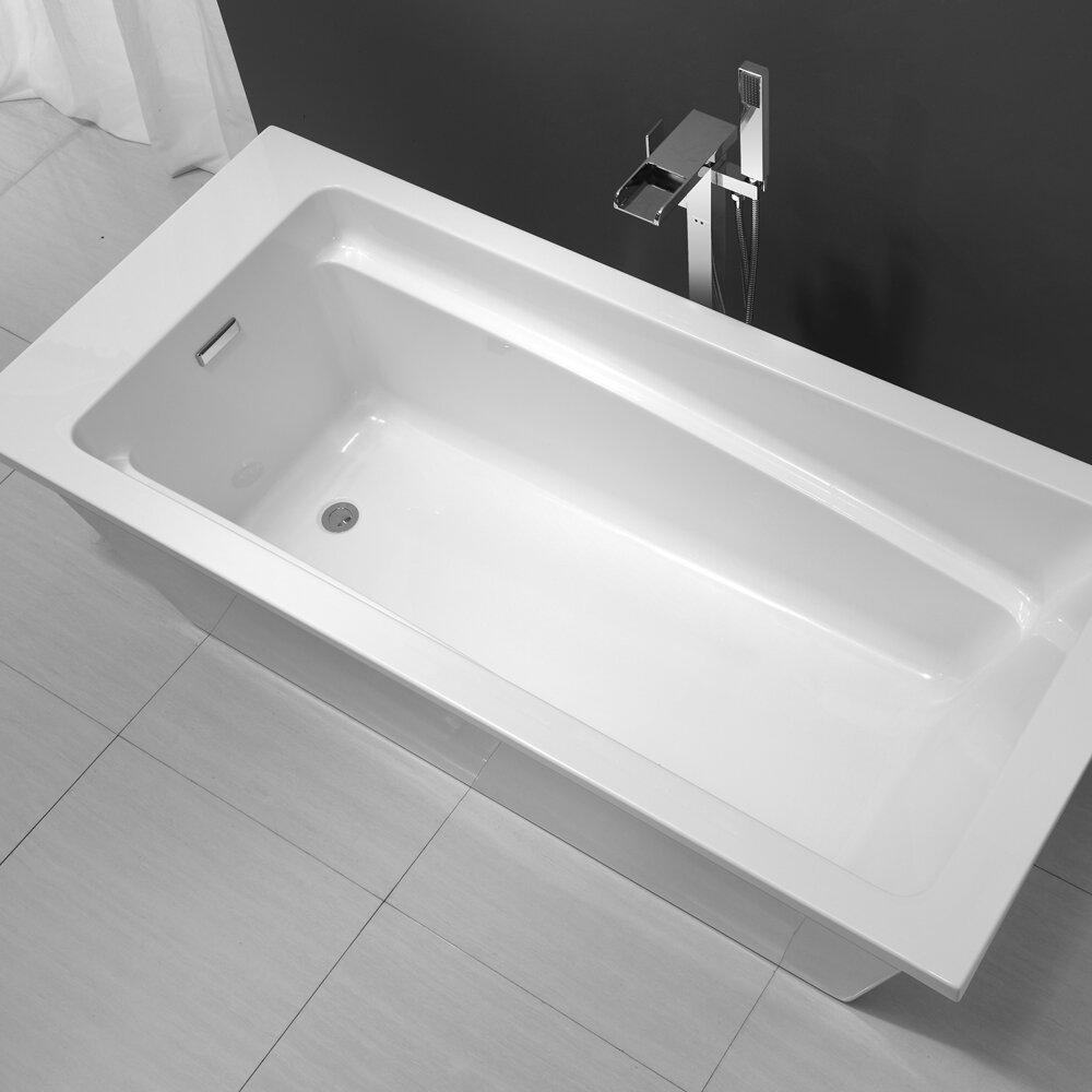 "Ove Decors Houston 69"" X 31"" Bathtub & Reviews"