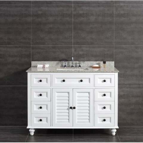 Ove Decors Heather 48 Quot Single Tiger Granite Top And