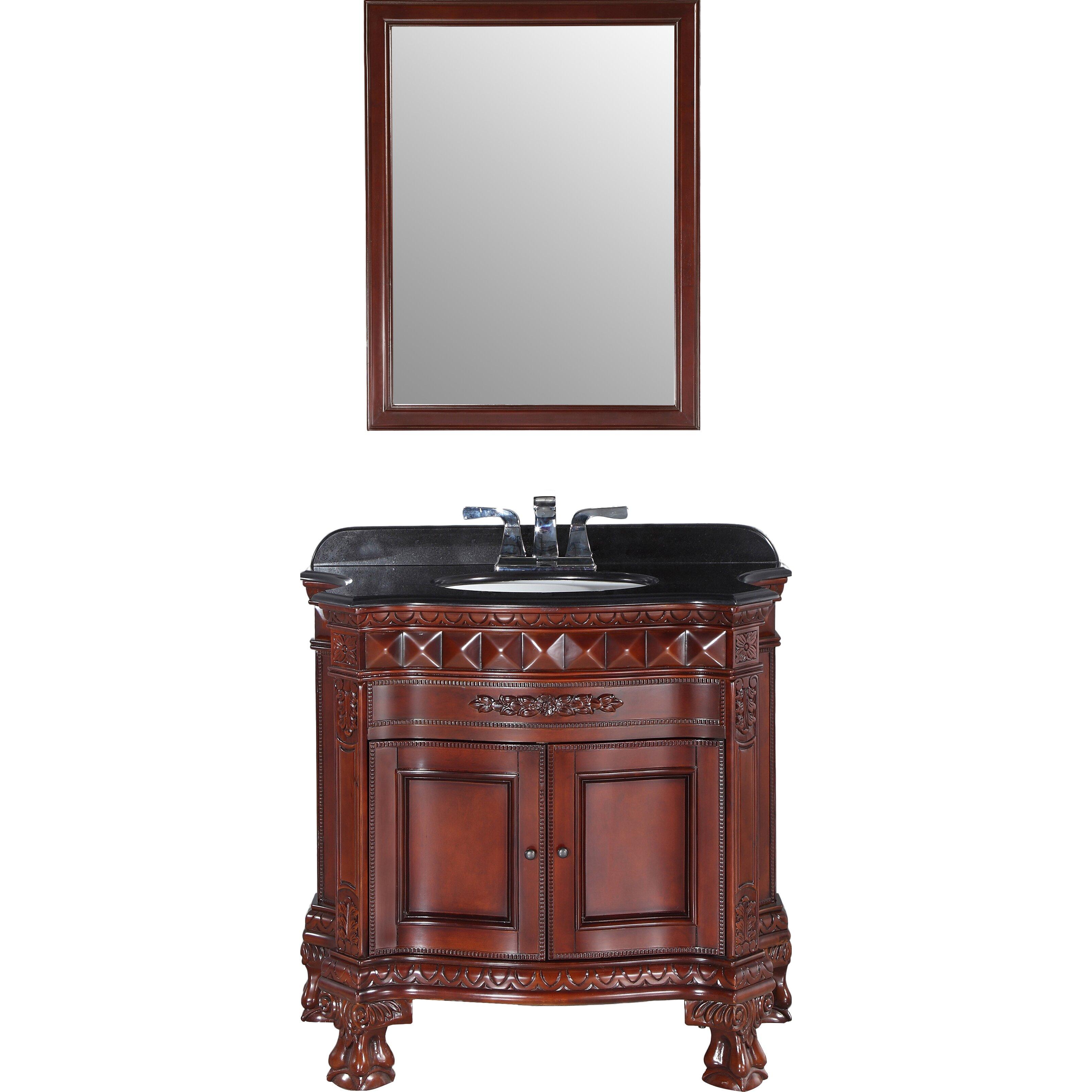 Ove decors bromley 36 single bathroom vanity set for Decor vanity