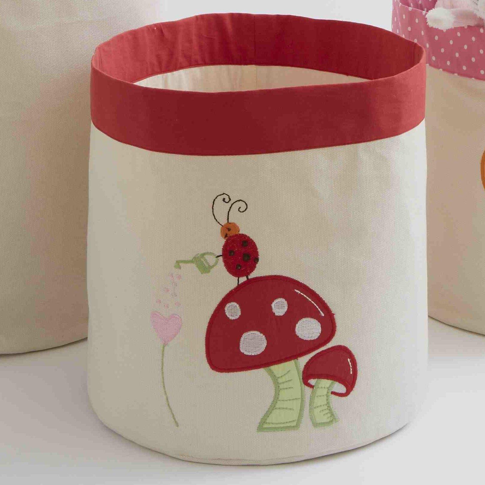 The Little Acorn Alphabet Adventure Mushroom Toy Storage