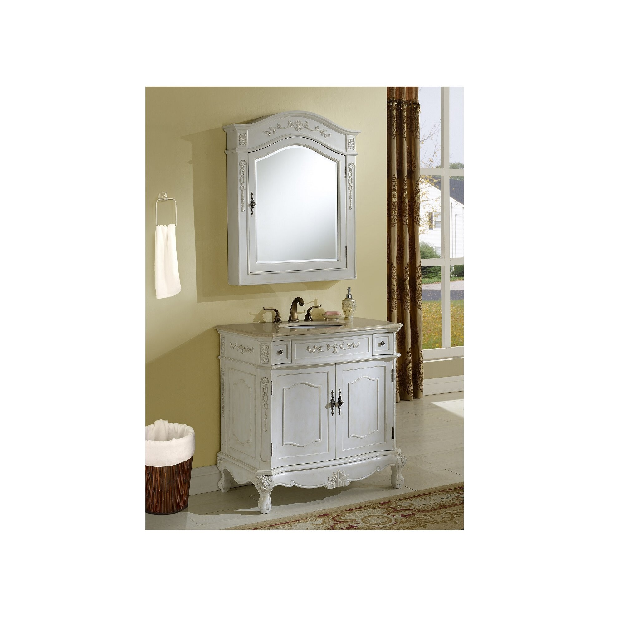Chelsea Home Furniture Cambridge 36 Single Vanity Set