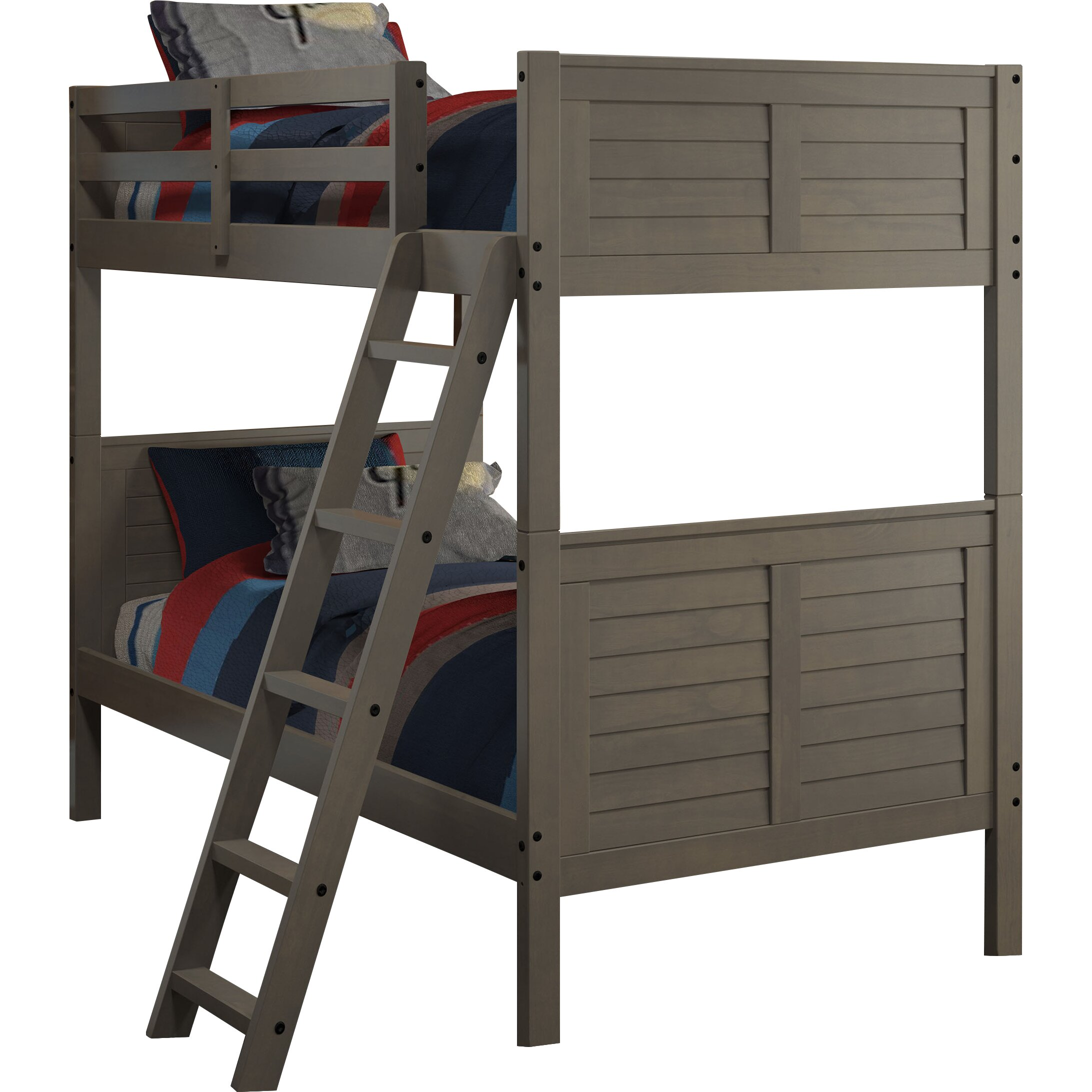 Chelsea Home Furniture Twin Over Twin Bunk Bed Reviews